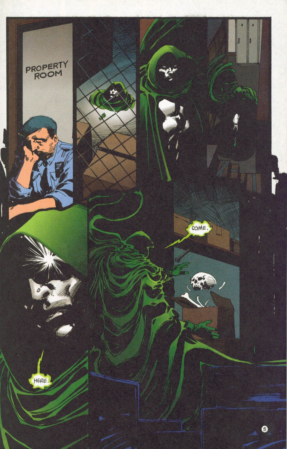 The Spectre (1992) #62 #64 - English 6