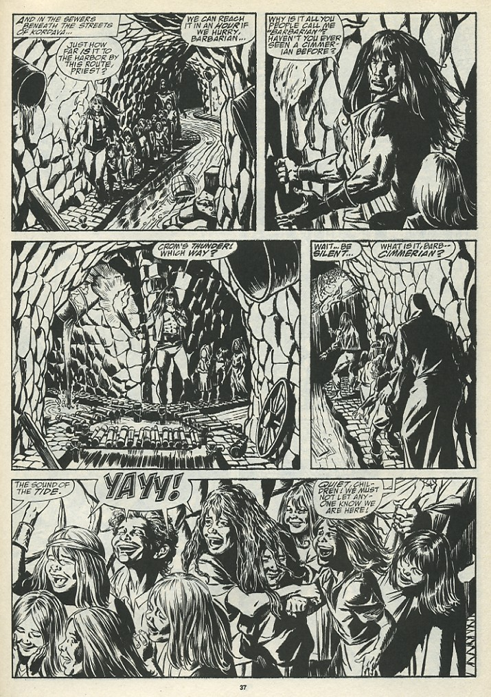 The Savage Sword Of Conan Issue #185 #186 - English 39