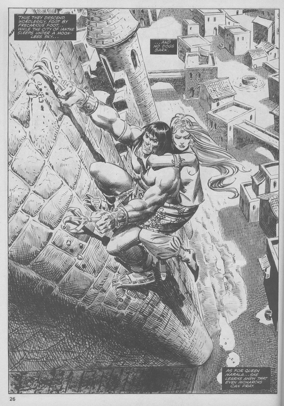 The Savage Sword Of Conan Issue #44 #45 - English 26