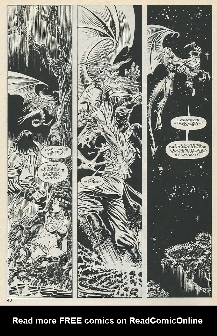 The Savage Sword Of Conan Issue #131 #132 - English 40