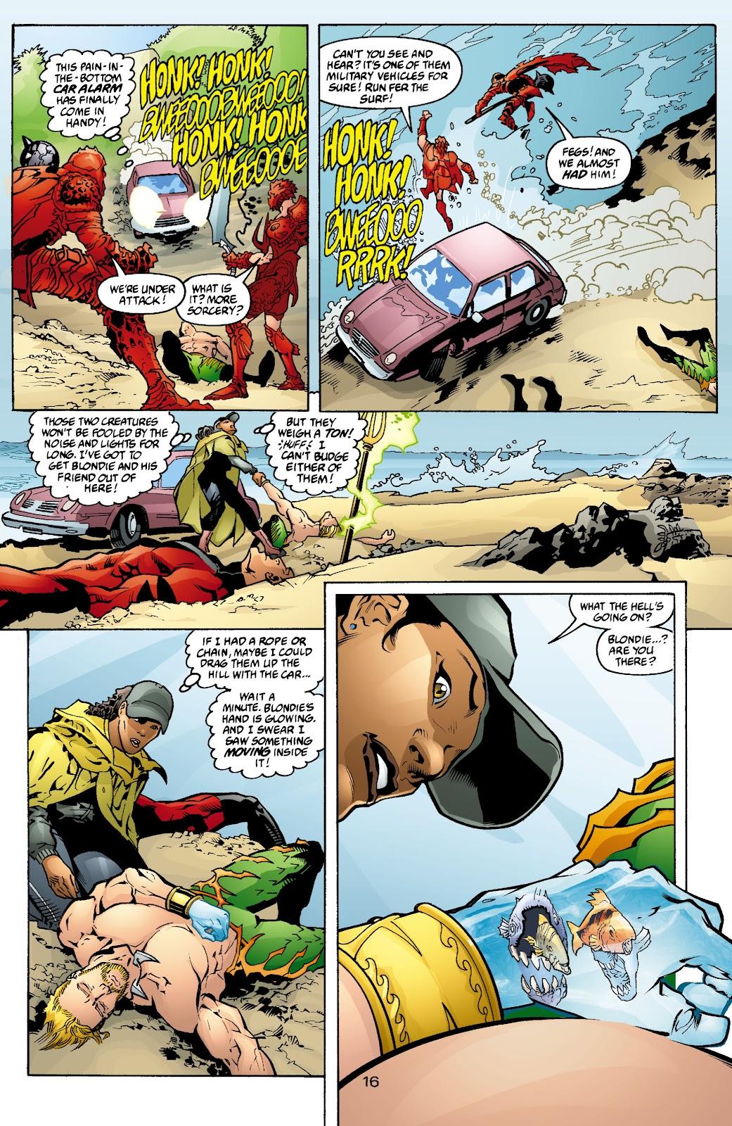 Aquaman (2003) Issue #4 #4 - English 17