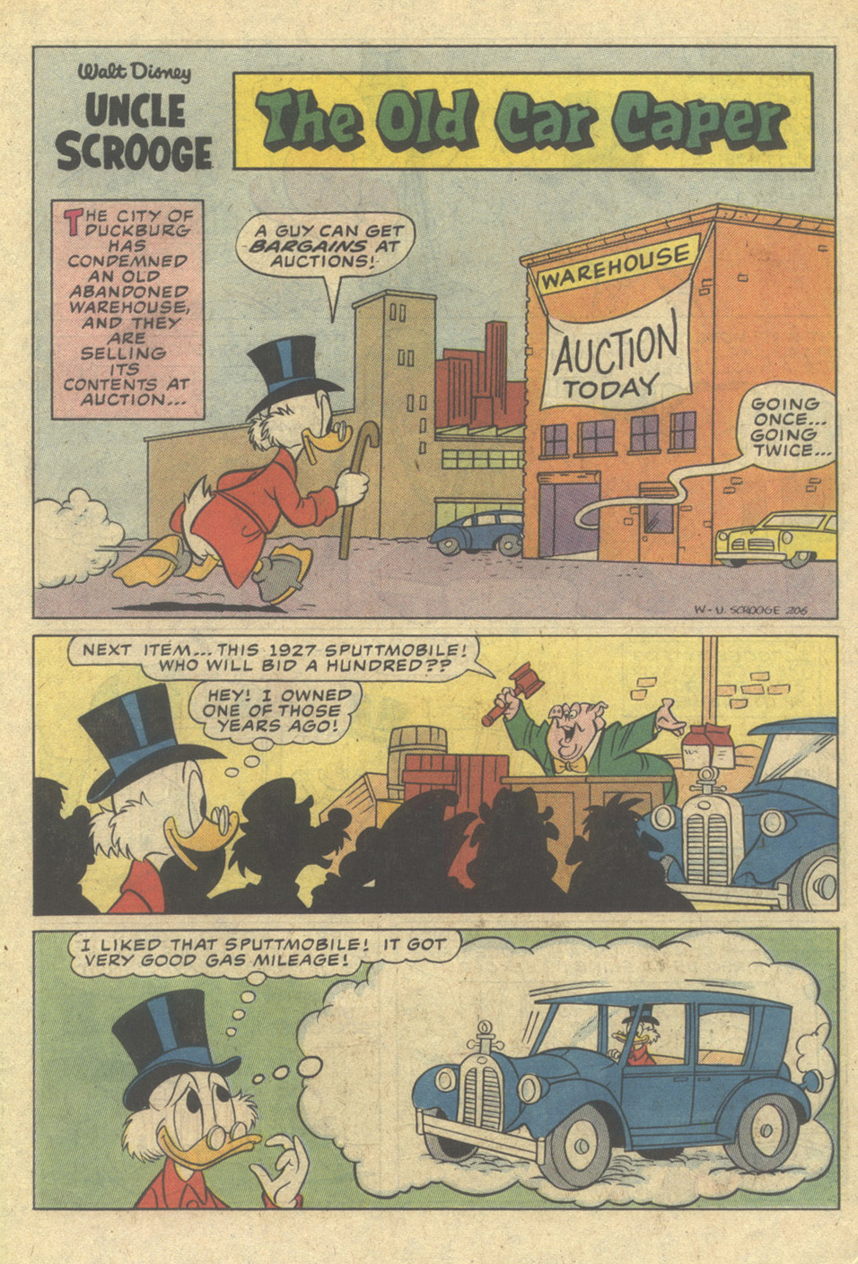Uncle Scrooge (1953) Issue #206 #206 - English 19
