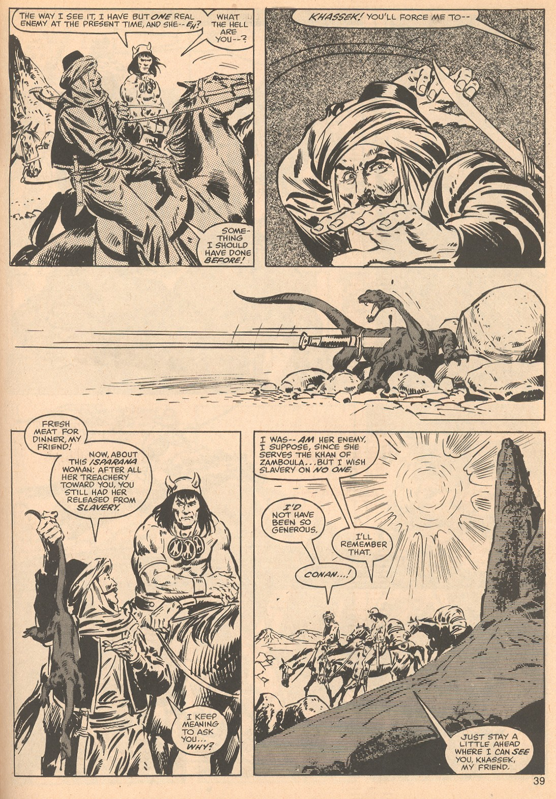 The Savage Sword Of Conan Issue #56 #57 - English 39