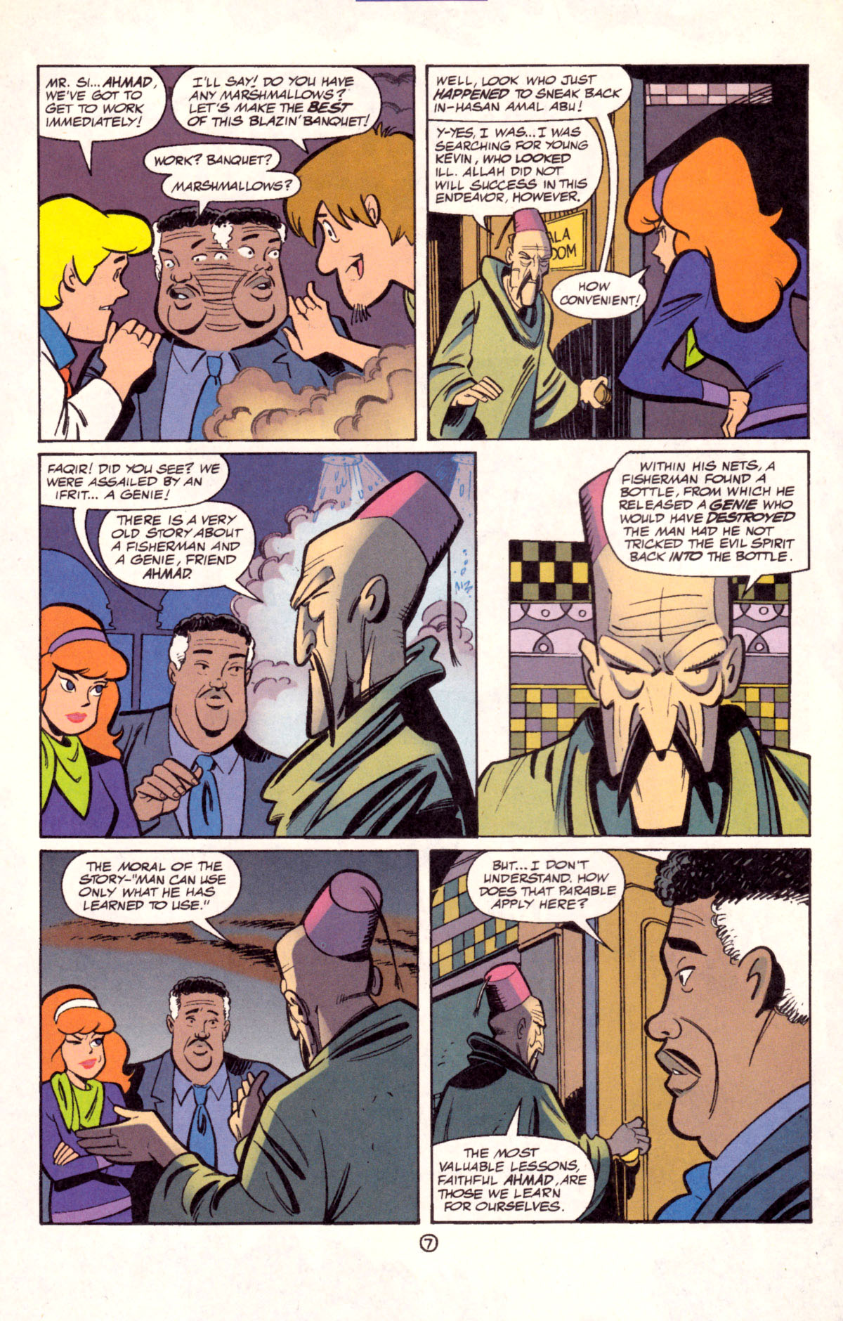 Read online Scooby-Doo (1997) comic -  Issue #11 - 8