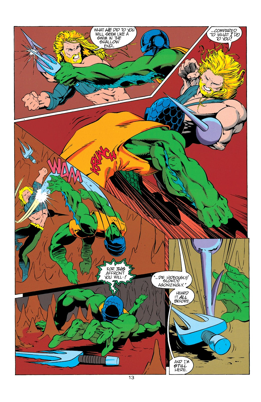 Aquaman (1994) Issue #6 #12 - English 14
