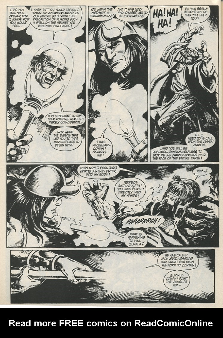 The Savage Sword Of Conan Issue #189 #190 - English 42