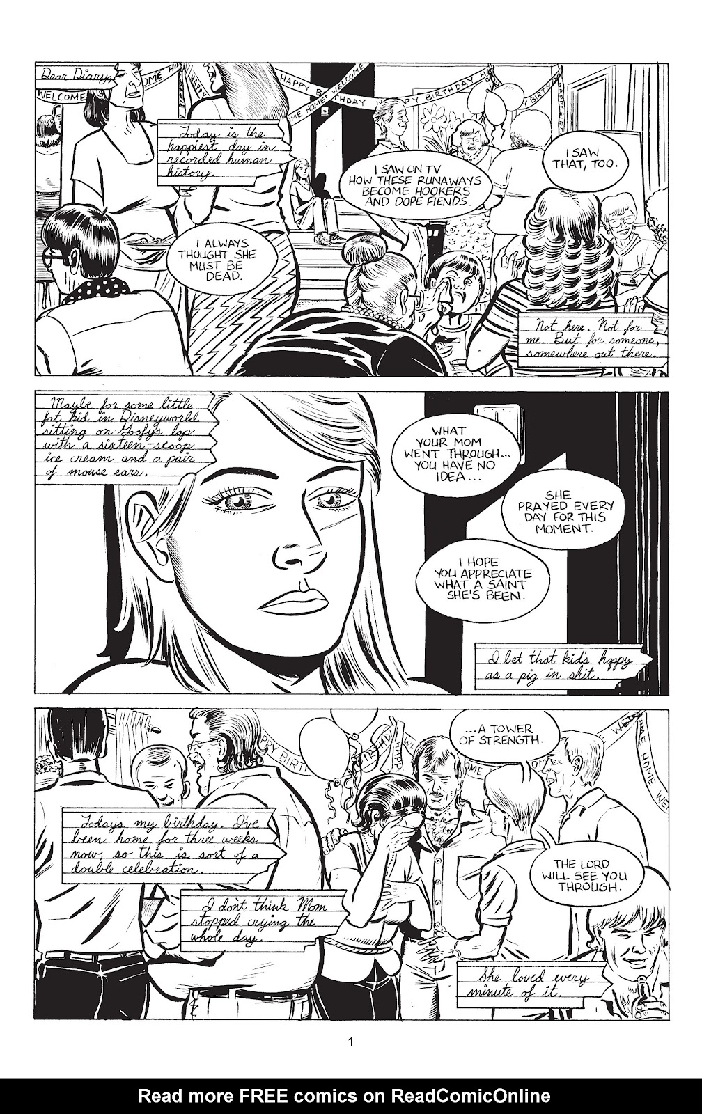 Stray Bullets Issue #36 #36 - English 3
