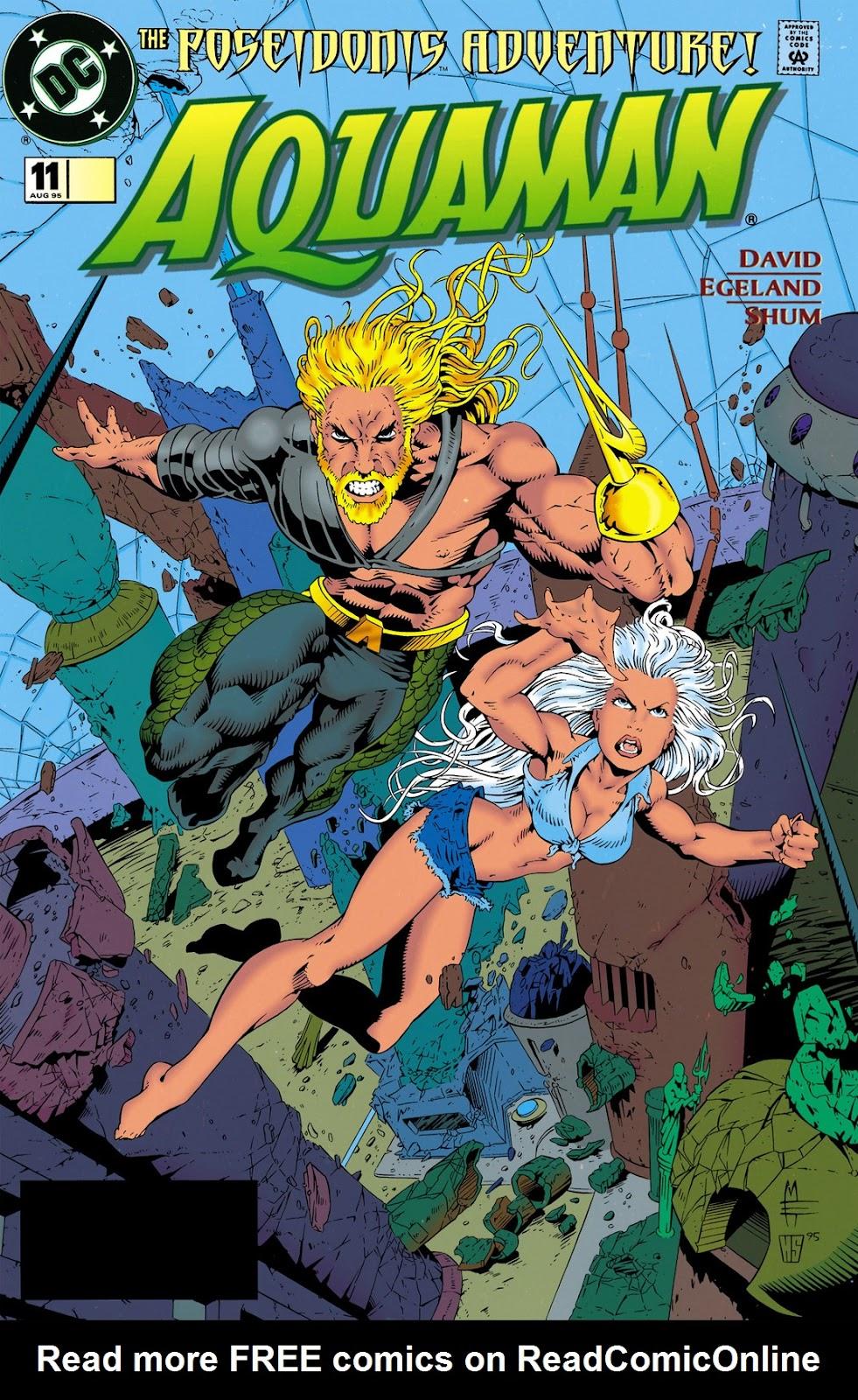 Aquaman (1994) Issue #11 #17 - English 1