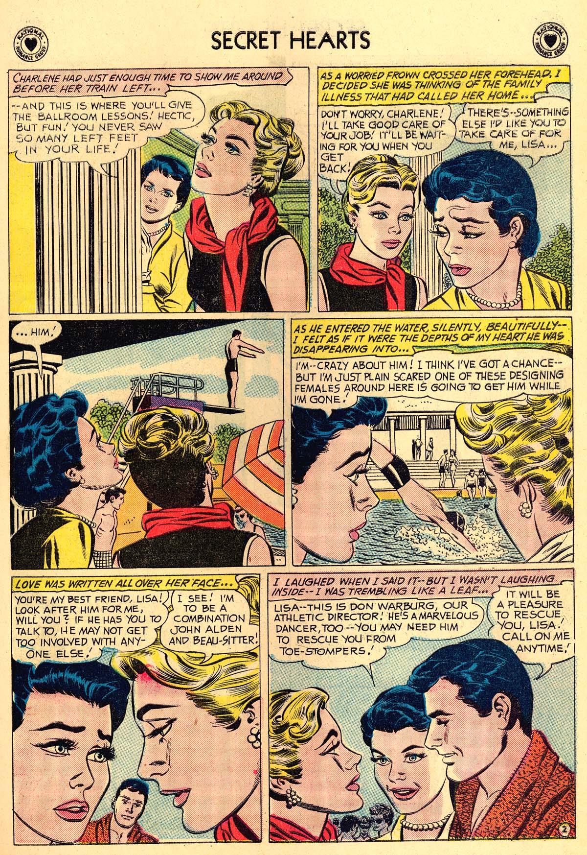 Read online Secret Hearts comic -  Issue #62 - 11