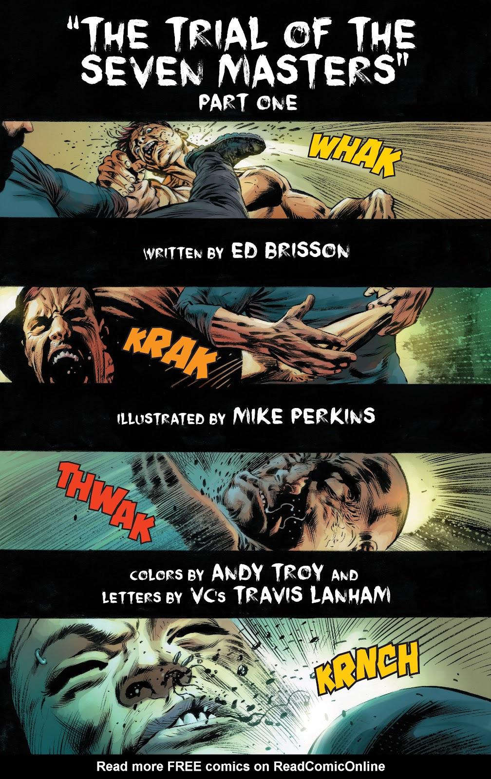 Iron Fist (2017) Issue #1 #1 - English 7