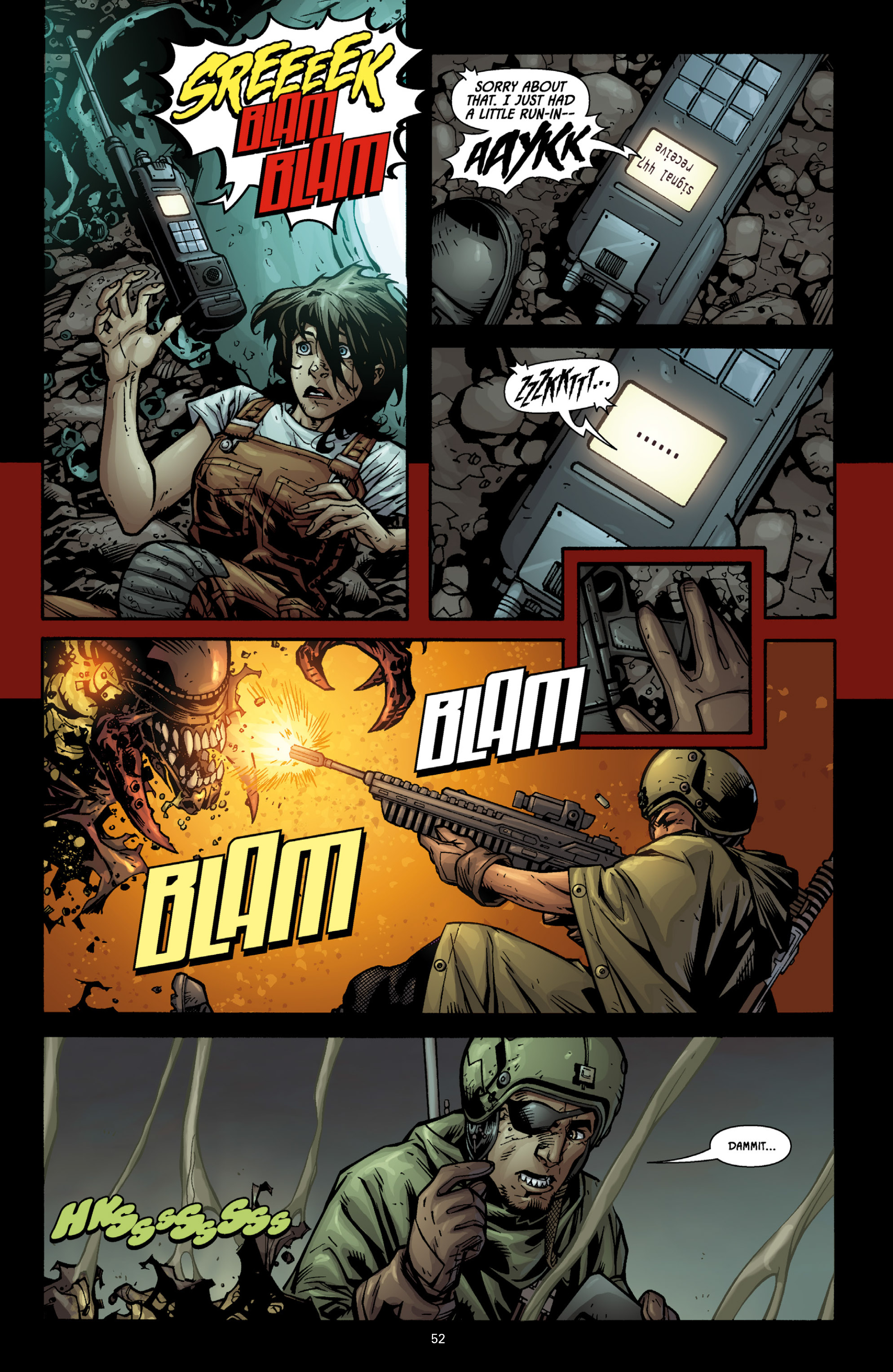 Aliens (2009) TPB Page 47