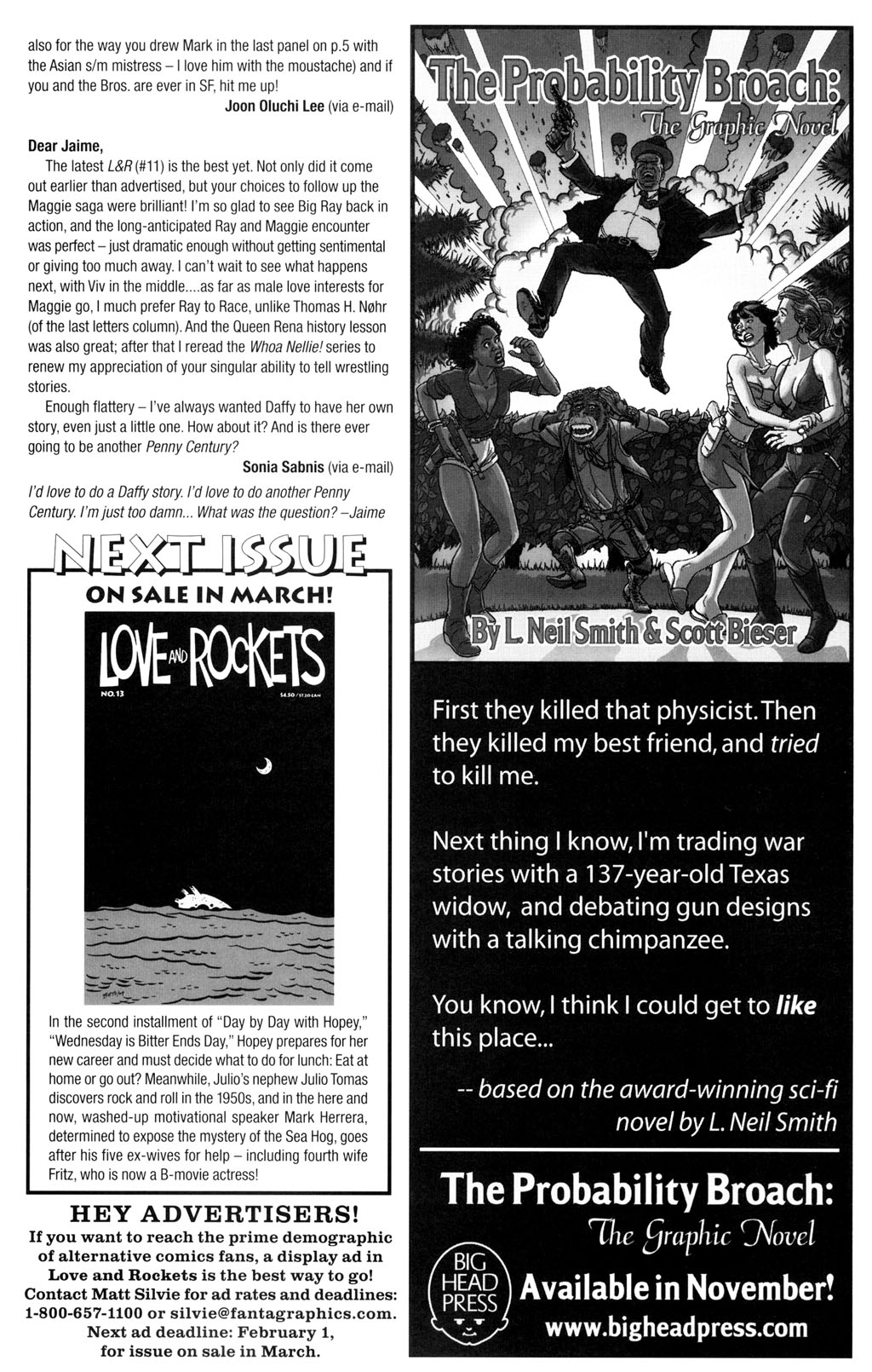 Read online Love and Rockets (2001) comic -  Issue #12 - 31