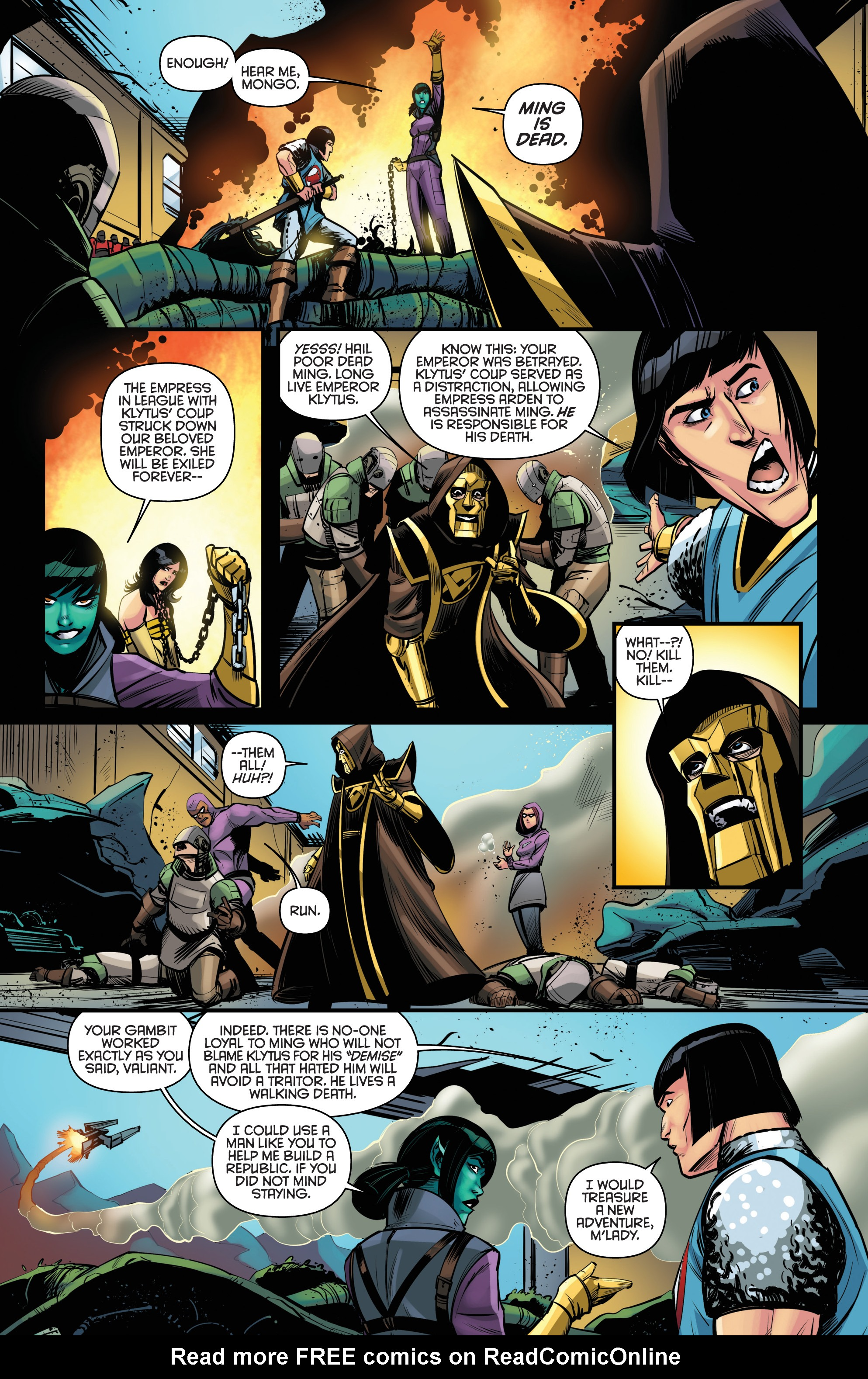 Read online Kings Quest comic -  Issue #5 - 21