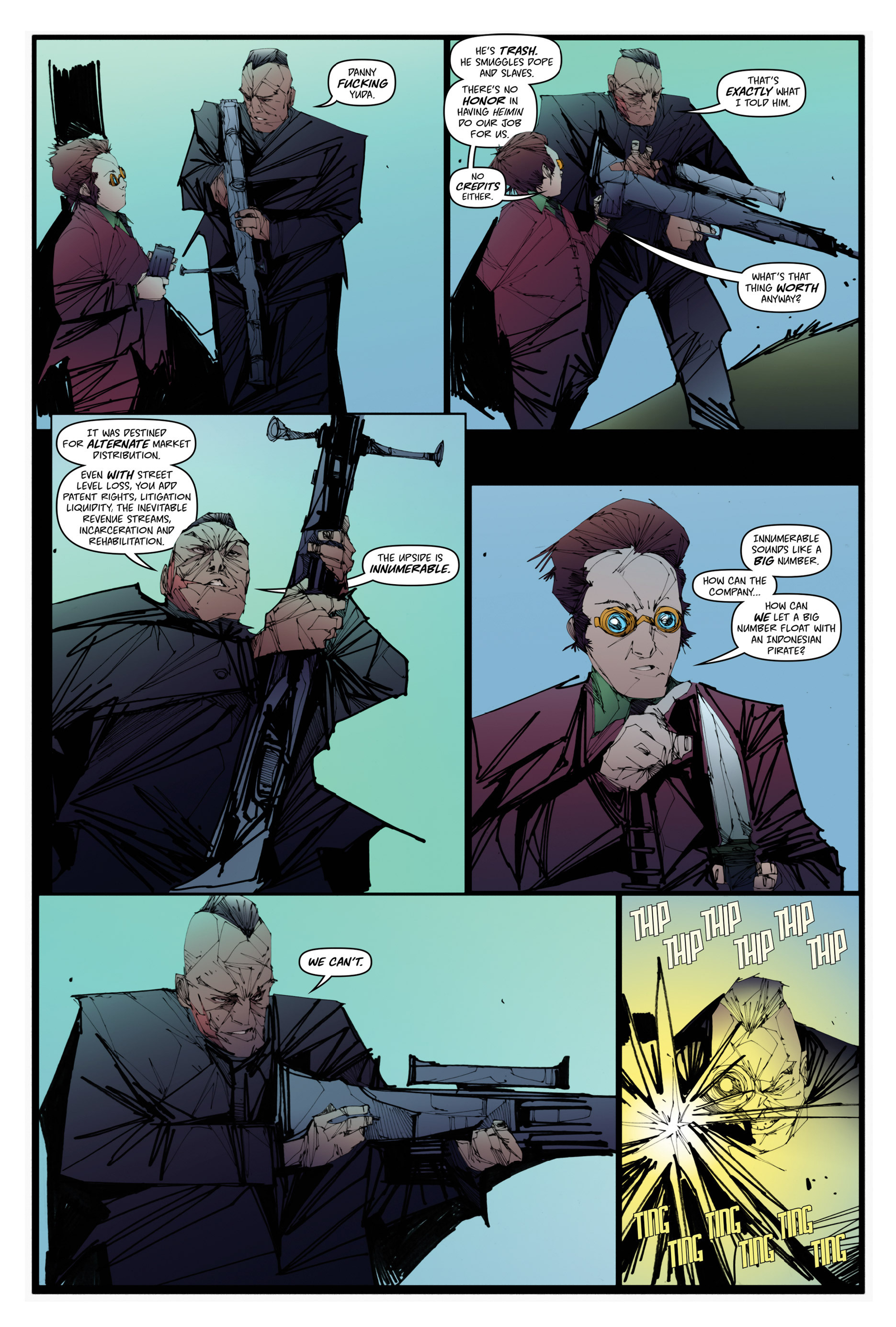 Read online Scrimshaw comic -  Issue #1 - 28