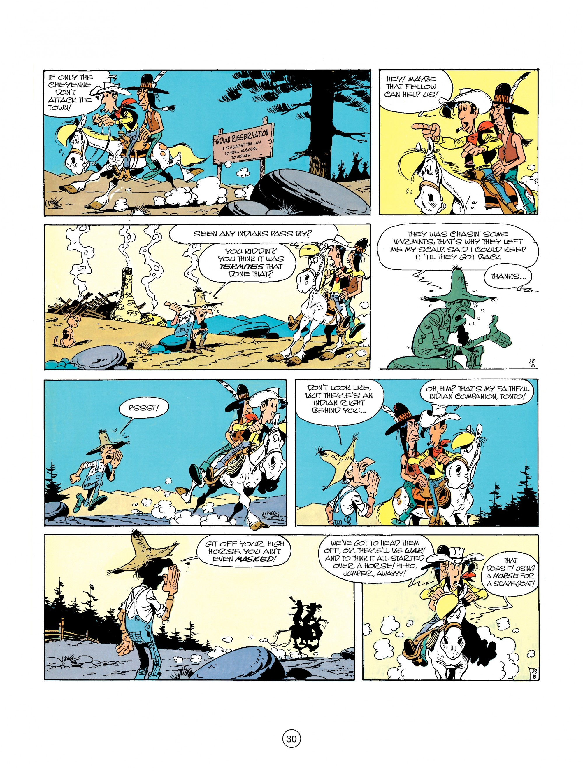 A Lucky Luke Adventure 26 Page 29