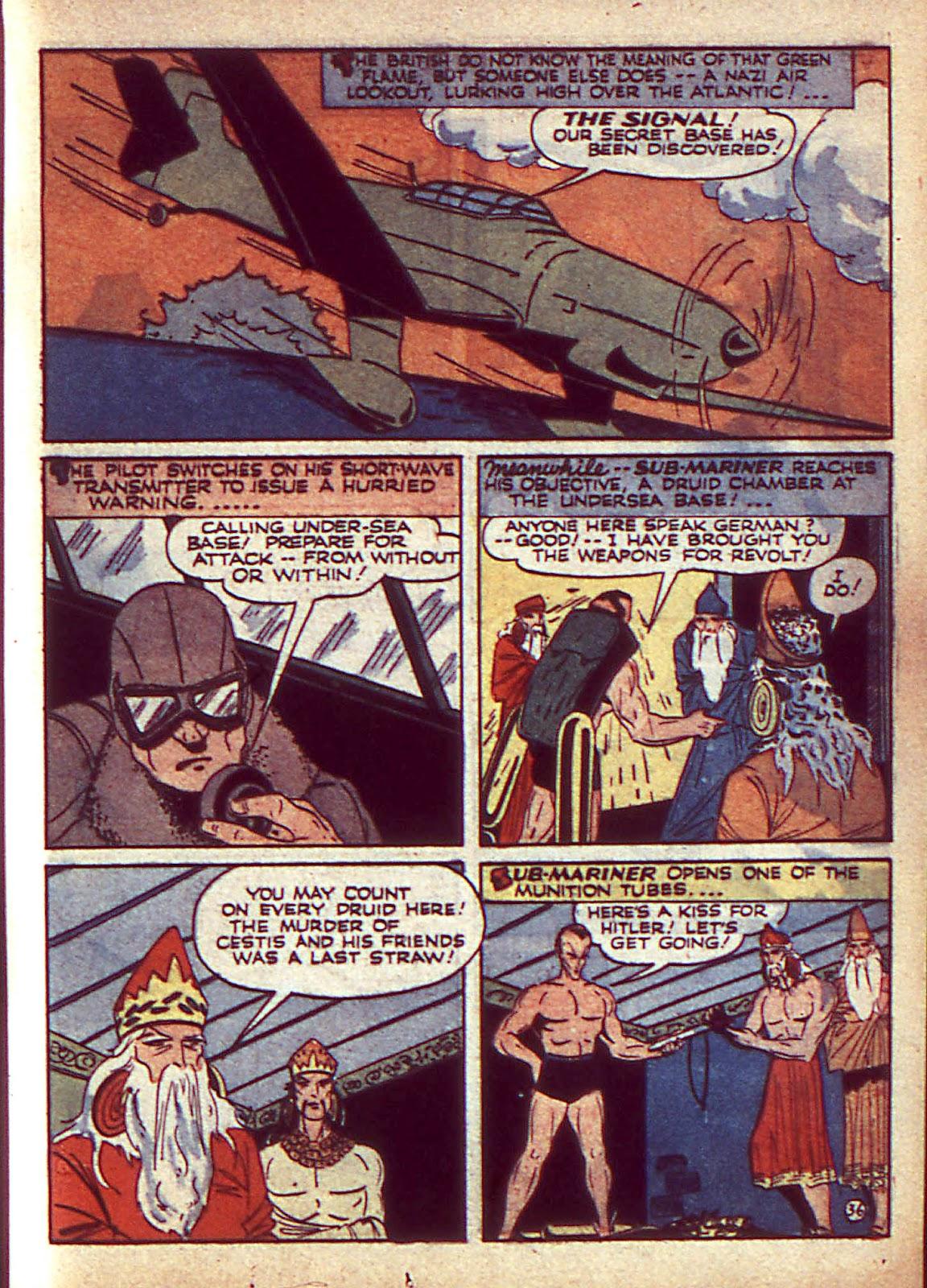 Sub-Mariner Comics Issue #3 #3 - English 40
