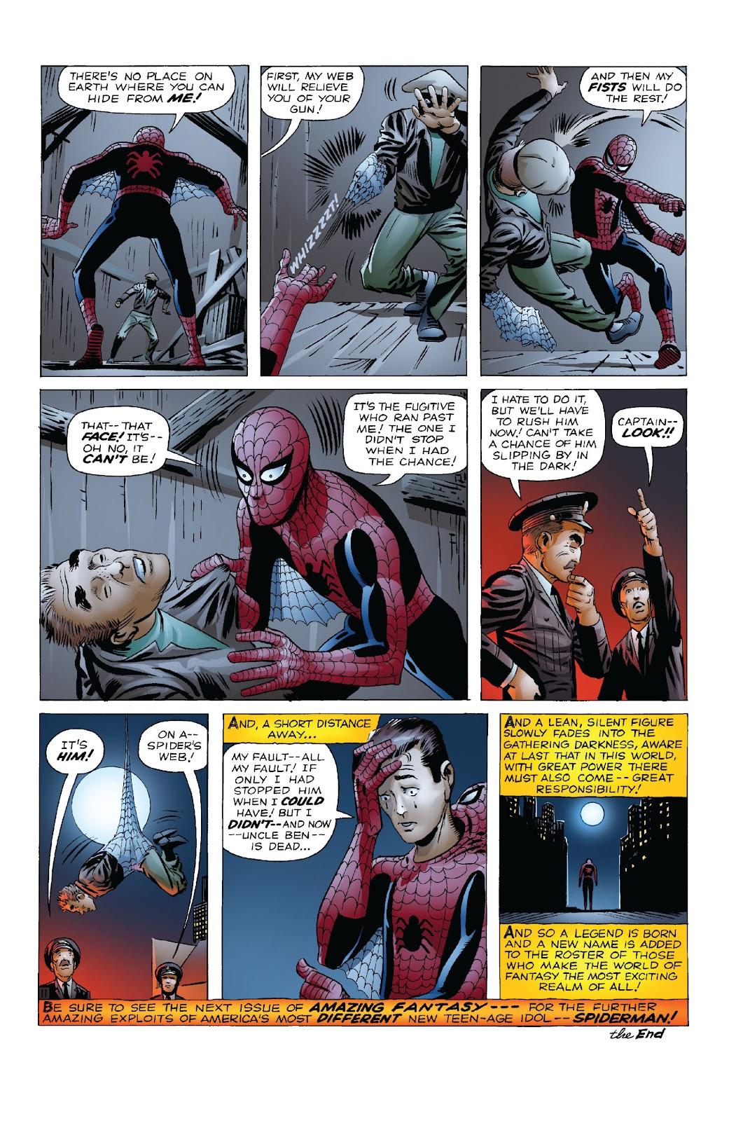 Amazing Fantasy #15: Spider-Man! Full #1 - English 13