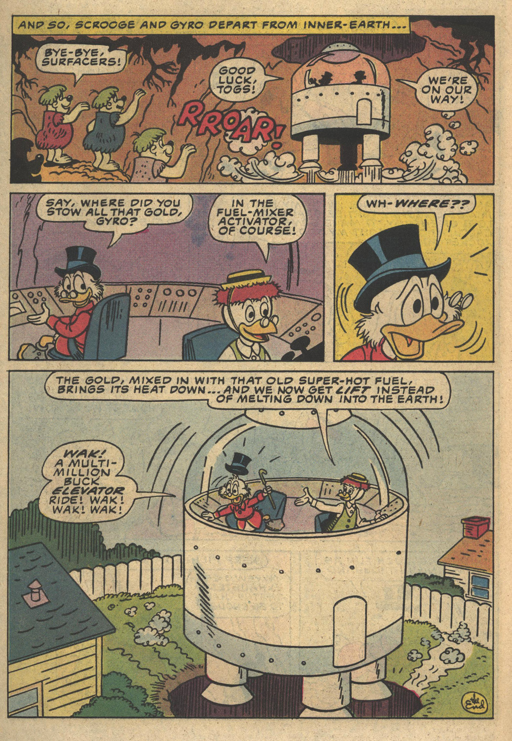 Uncle Scrooge (1953) Issue #194 #194 - English 14
