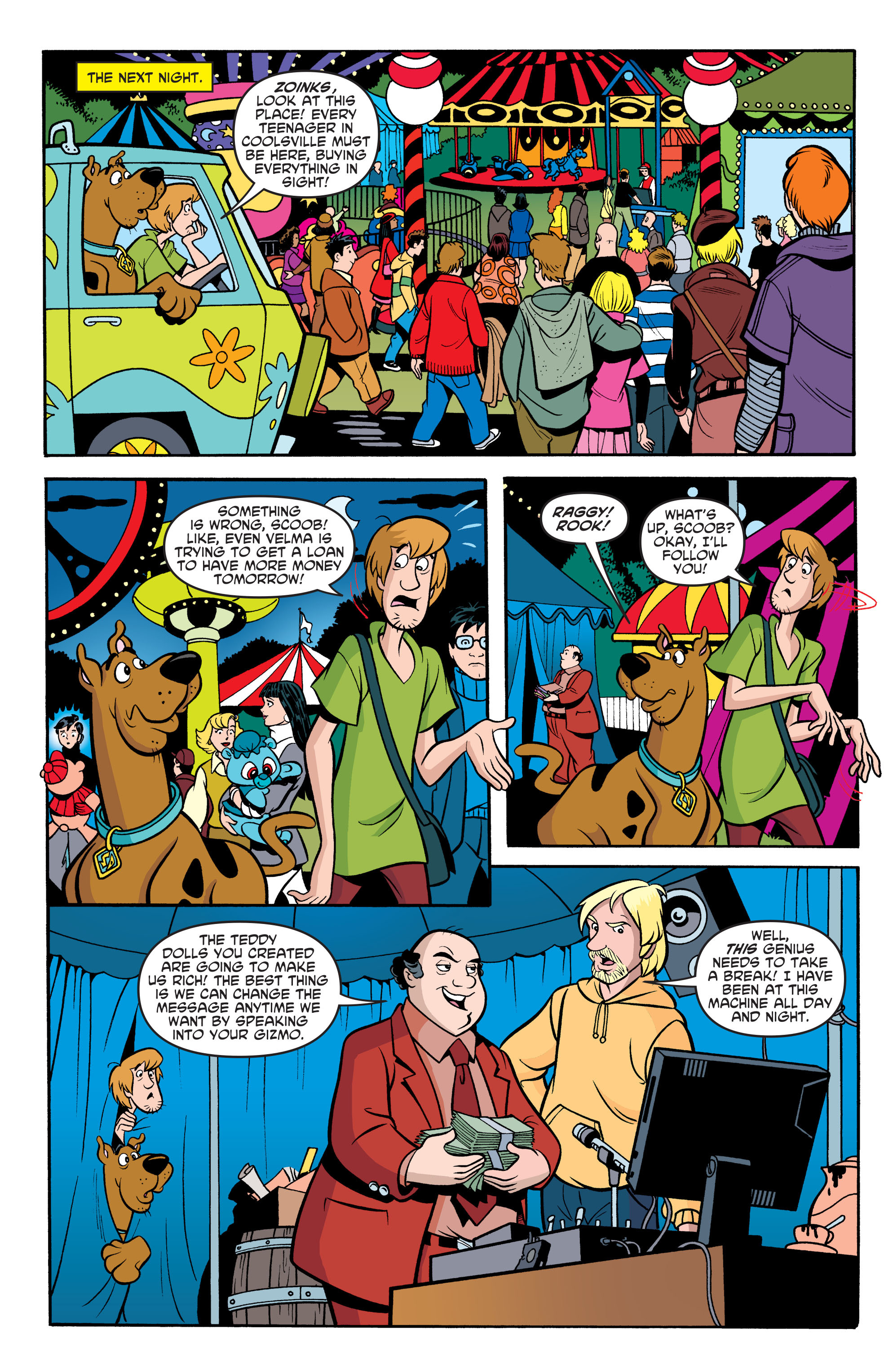 Read online Scooby-Doo: Where Are You? comic -  Issue #67 - 22