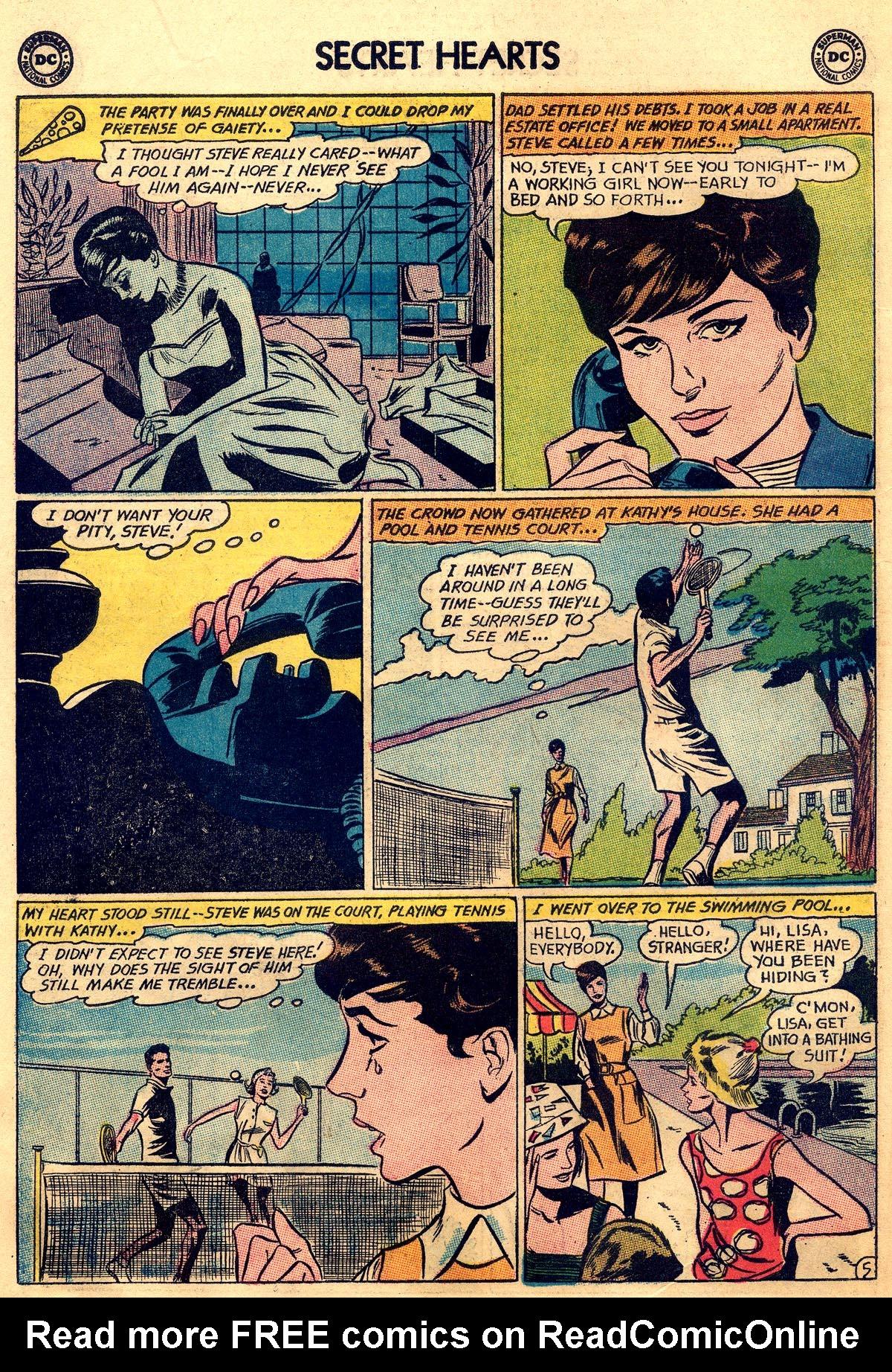 Read online Secret Hearts comic -  Issue #92 - 14
