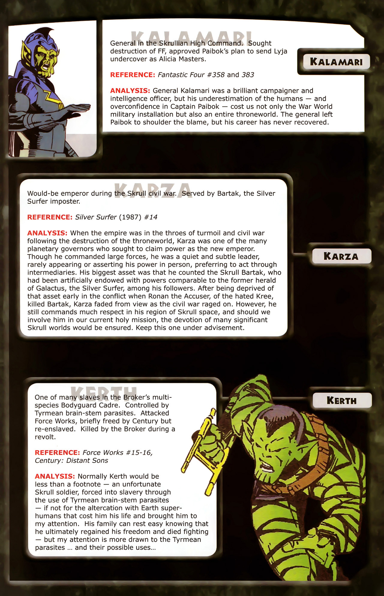 Read online Skrulls! comic -  Issue # Full - 23