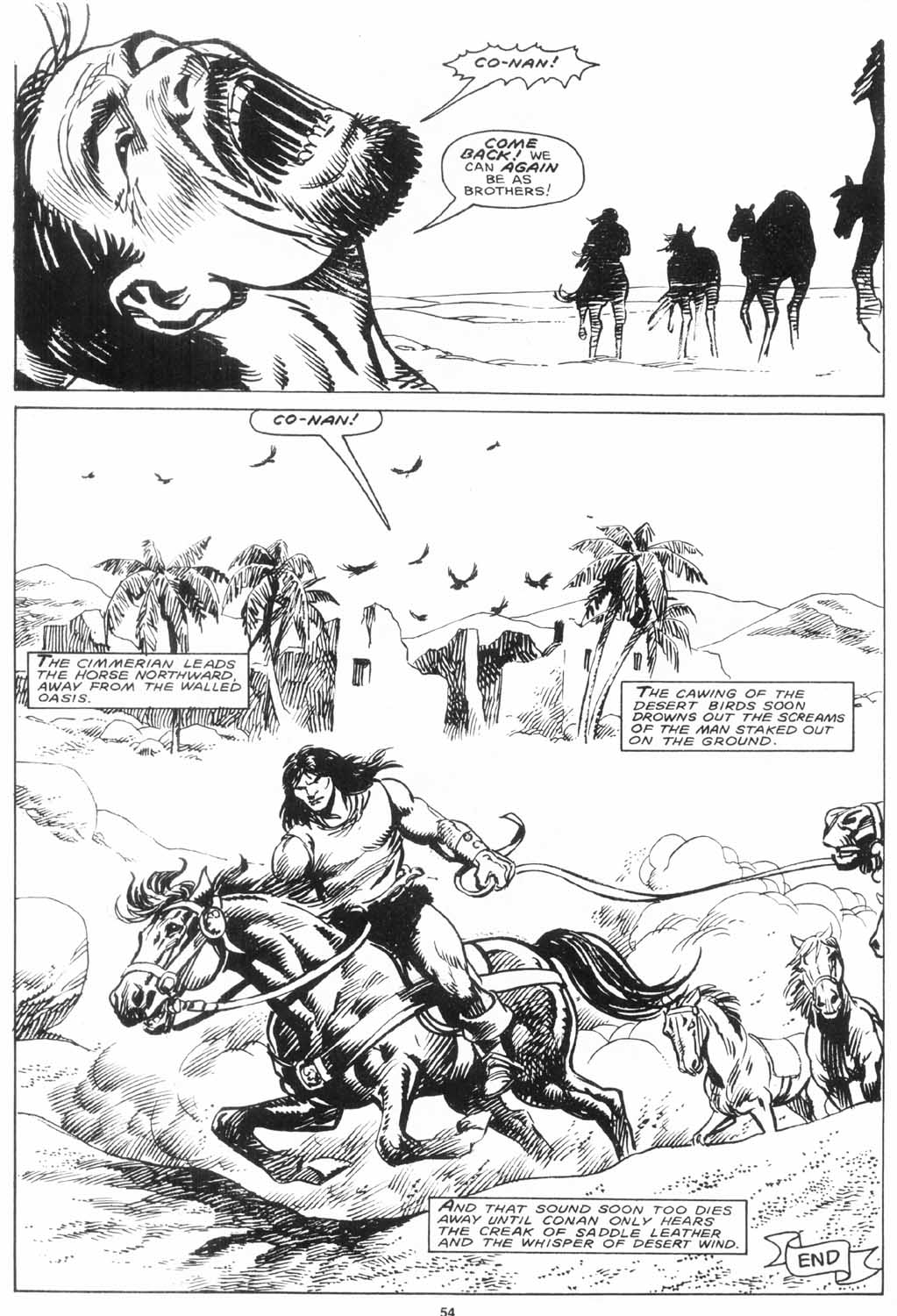 The Savage Sword Of Conan Issue #156 #157 - English 53