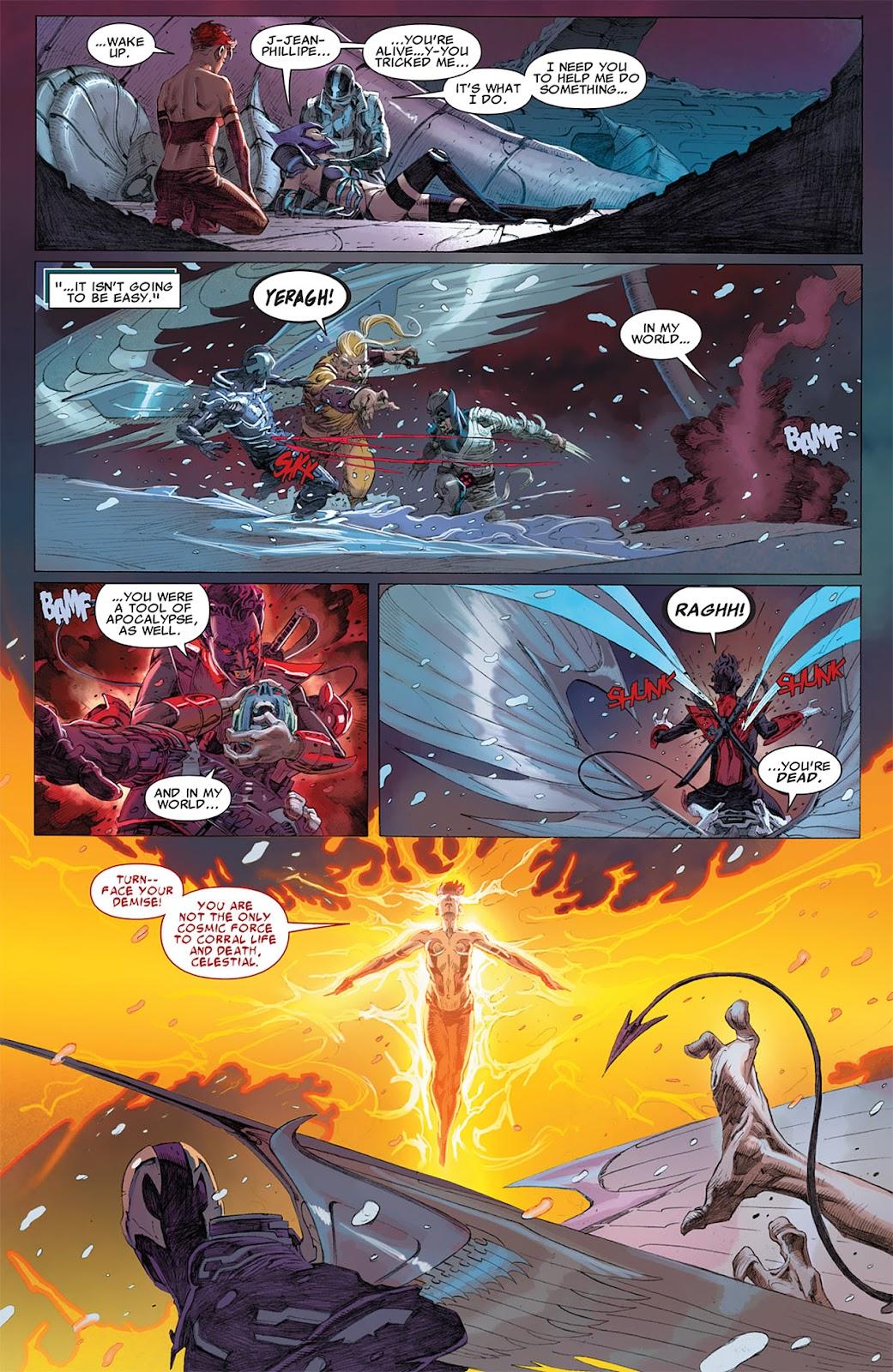 Uncanny X-Force (2010) Issue #17 #18 - English 17