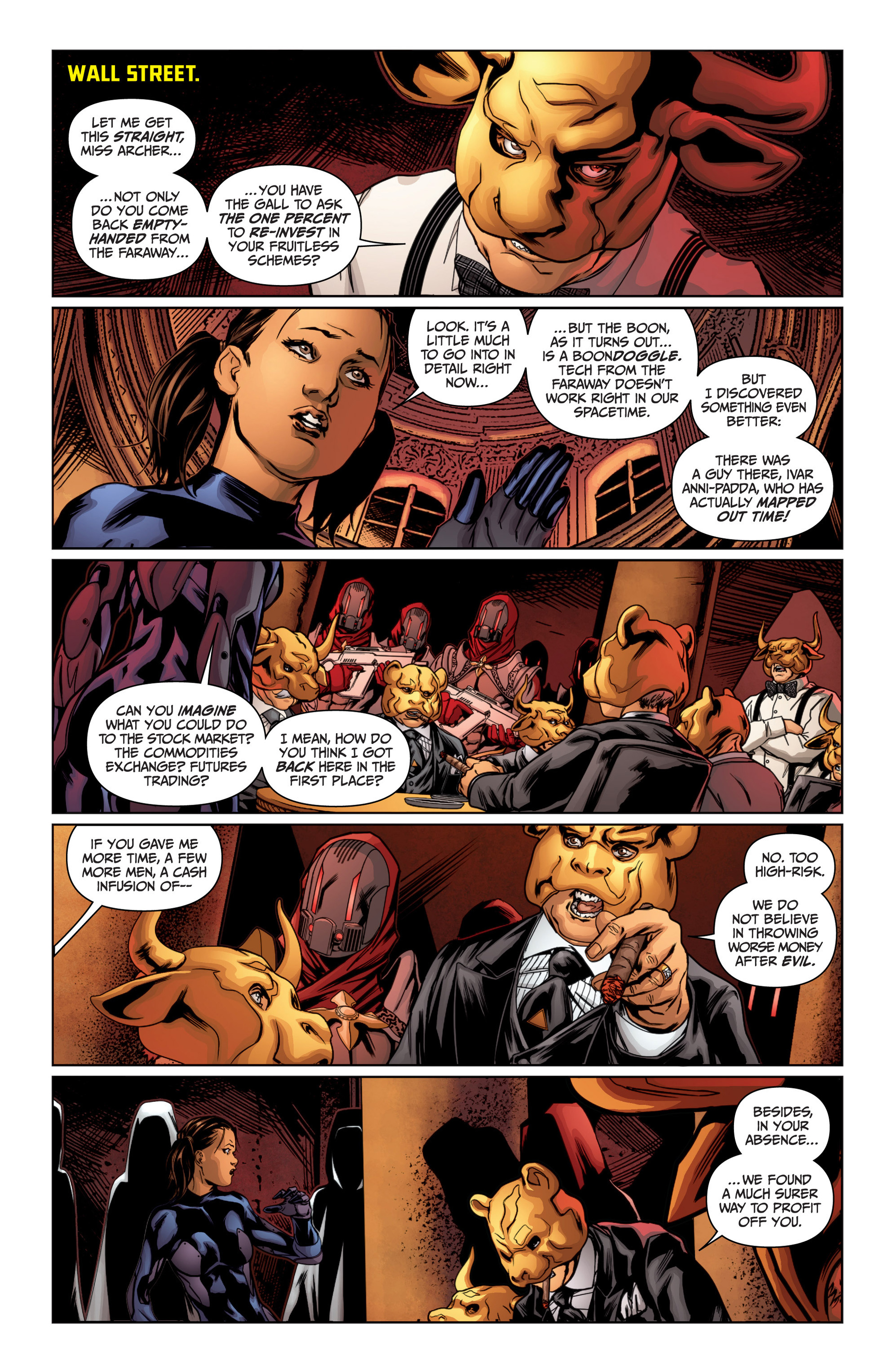 Archer and Armstrong 14 Page 18