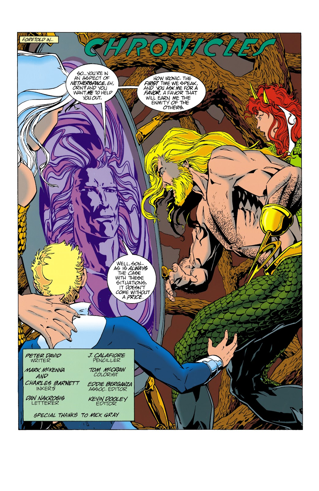 Aquaman (1994) Issue #15 #21 - English 3