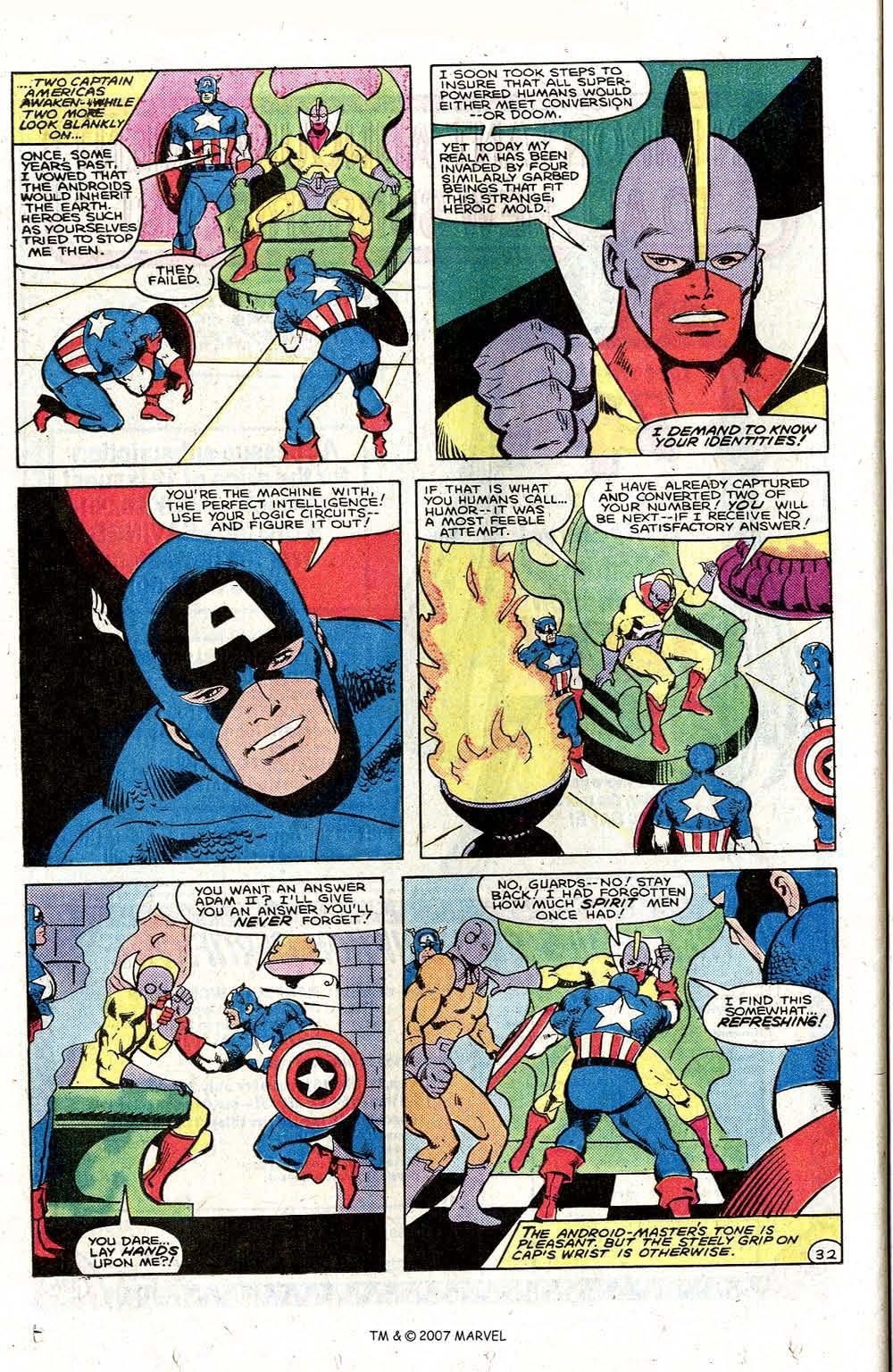 Captain America (1968) _Annual 6 #6 - English 40