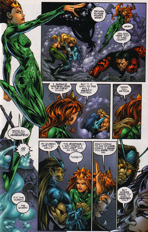 Aquaman (1994) Issue #59 #65 - English 22
