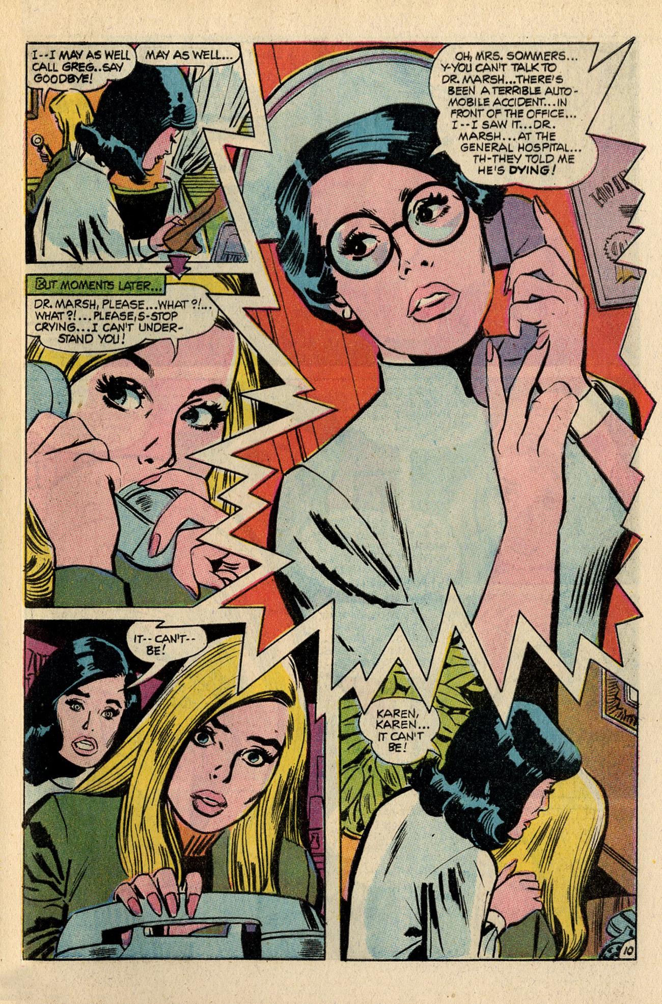 Read online Secret Hearts comic -  Issue #138 - 29