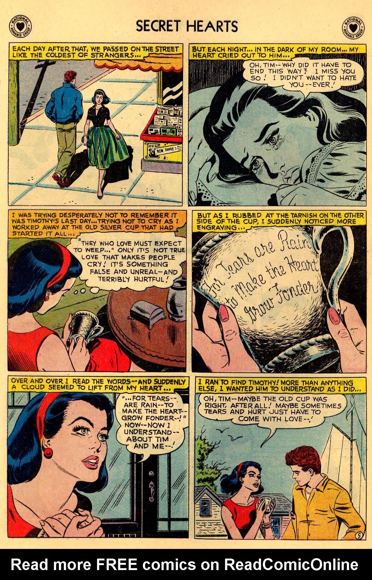 Read online Secret Hearts comic -  Issue #55 - 16