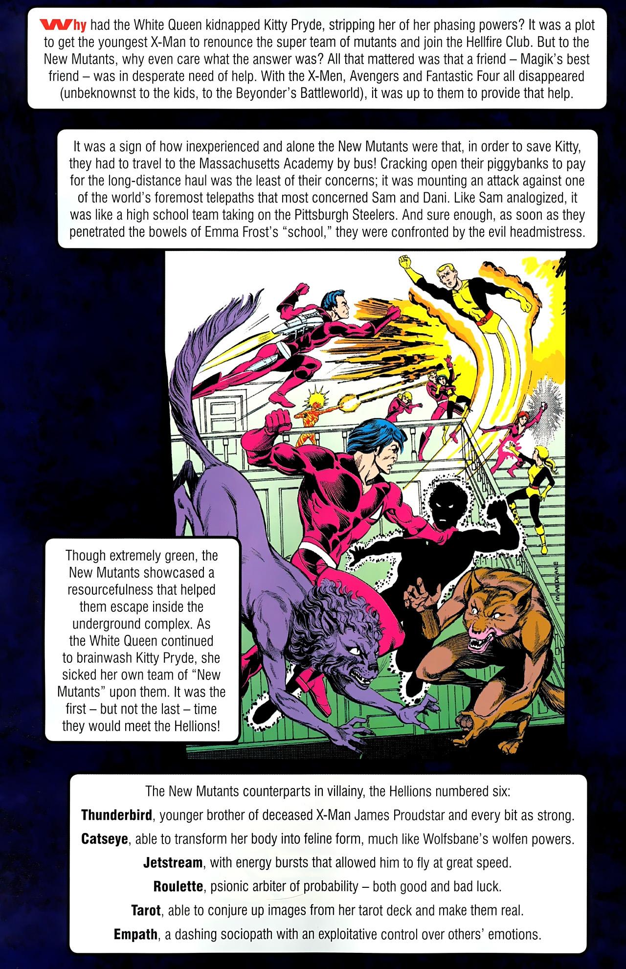 Read online New Mutants Saga comic -  Issue # Full - 12
