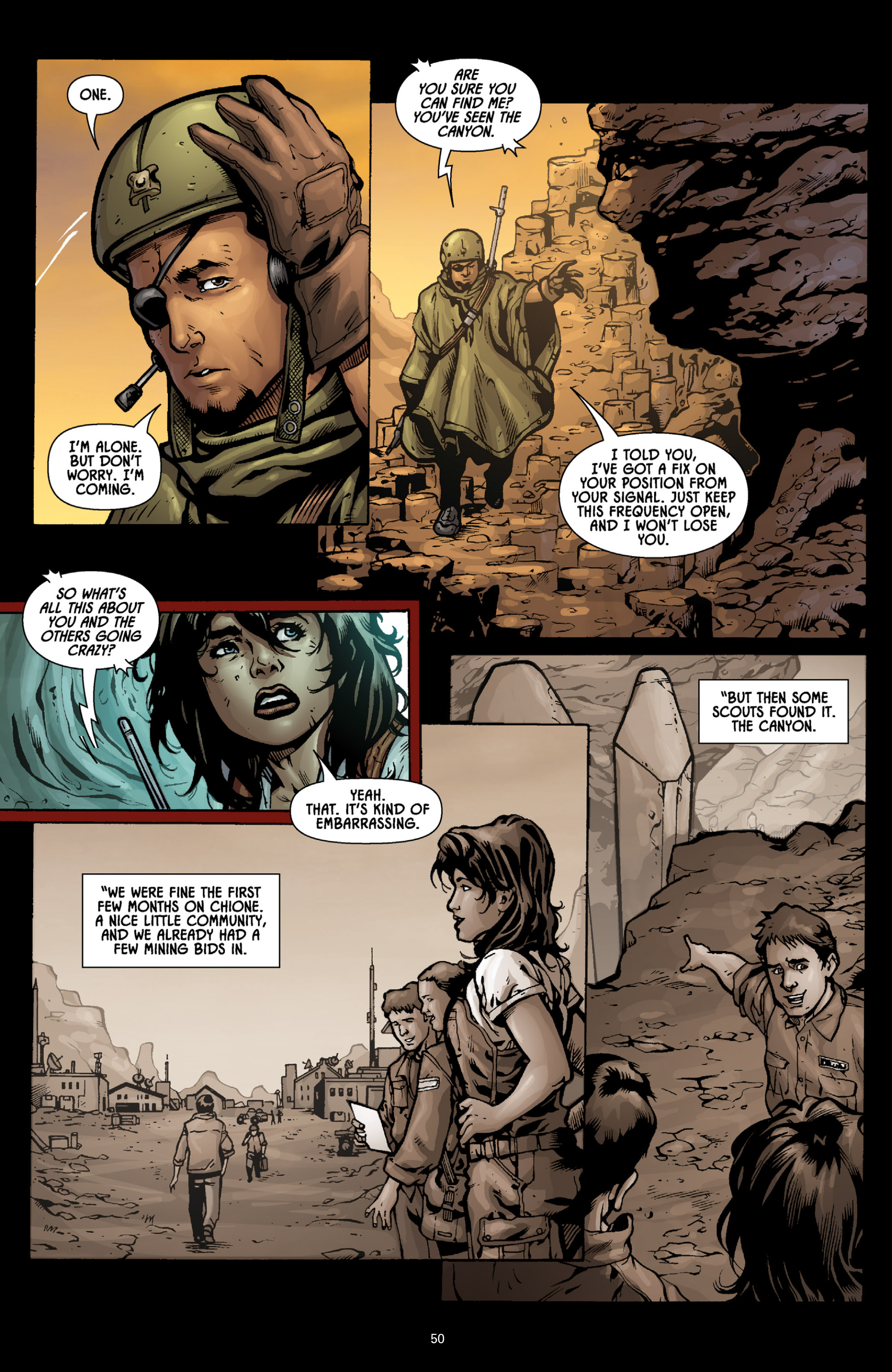 Aliens (2009) TPB Page 45