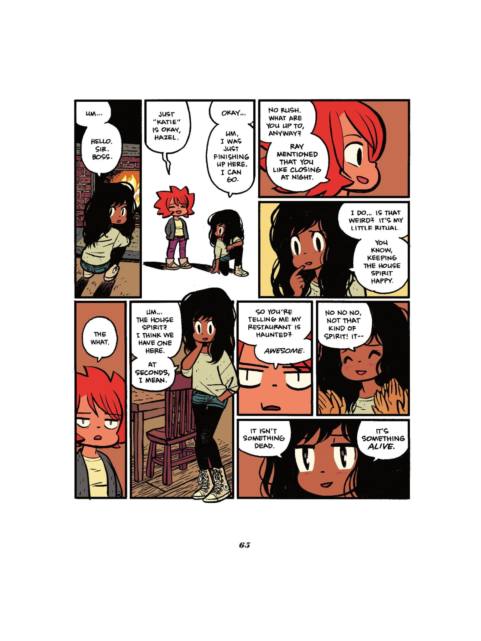 Read online Seconds comic -  Issue # Full - 67