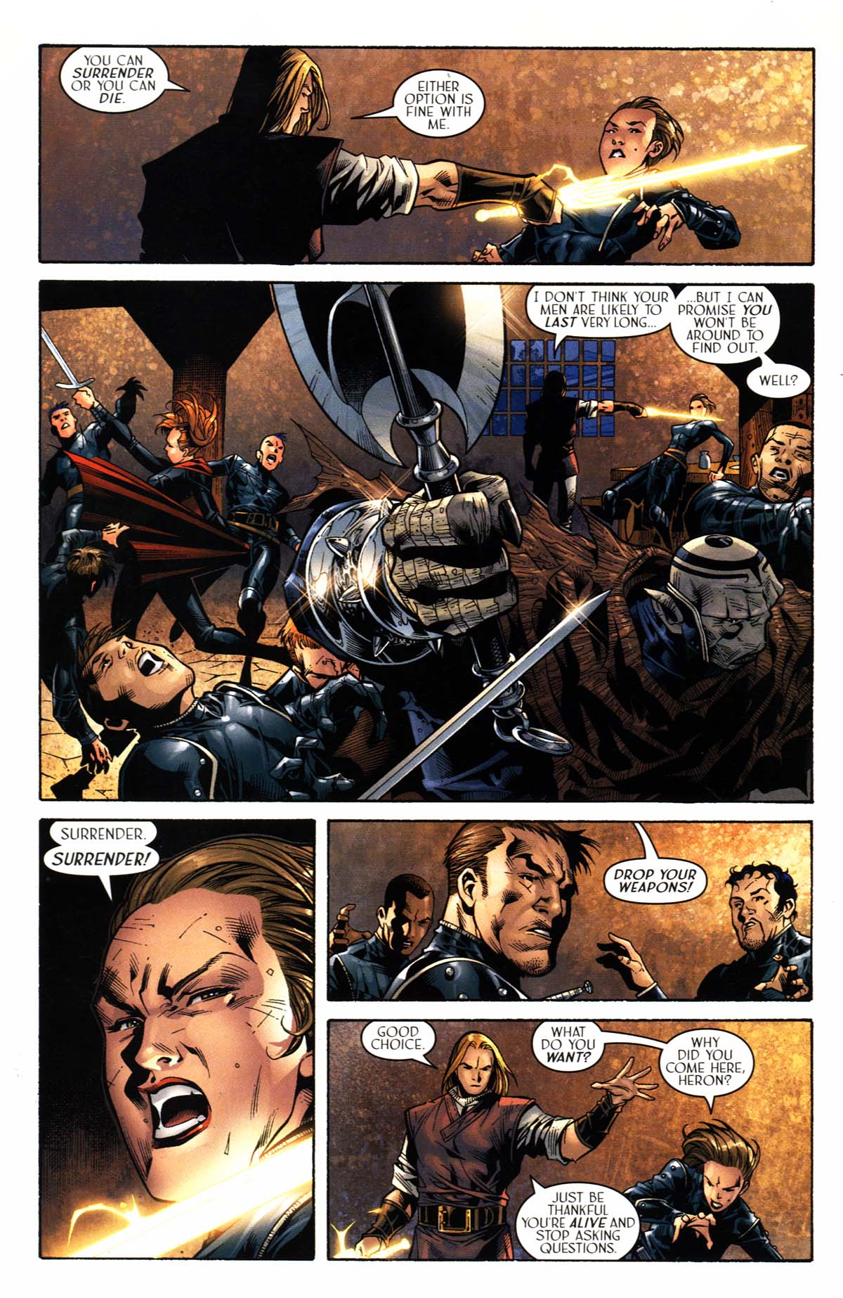 Read online Scion comic -  Issue #23 - 13