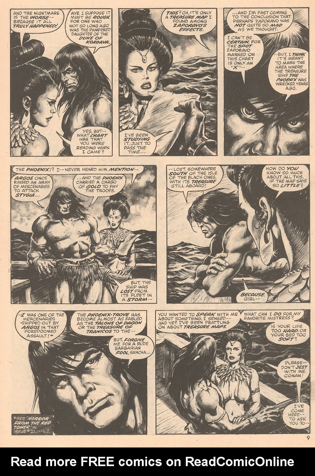 The Savage Sword Of Conan Issue #67 #68 - English 9