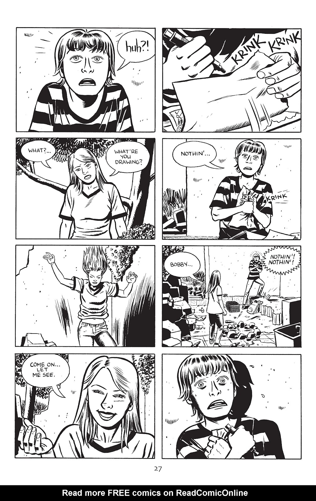 Stray Bullets Issue #30 #30 - English 29