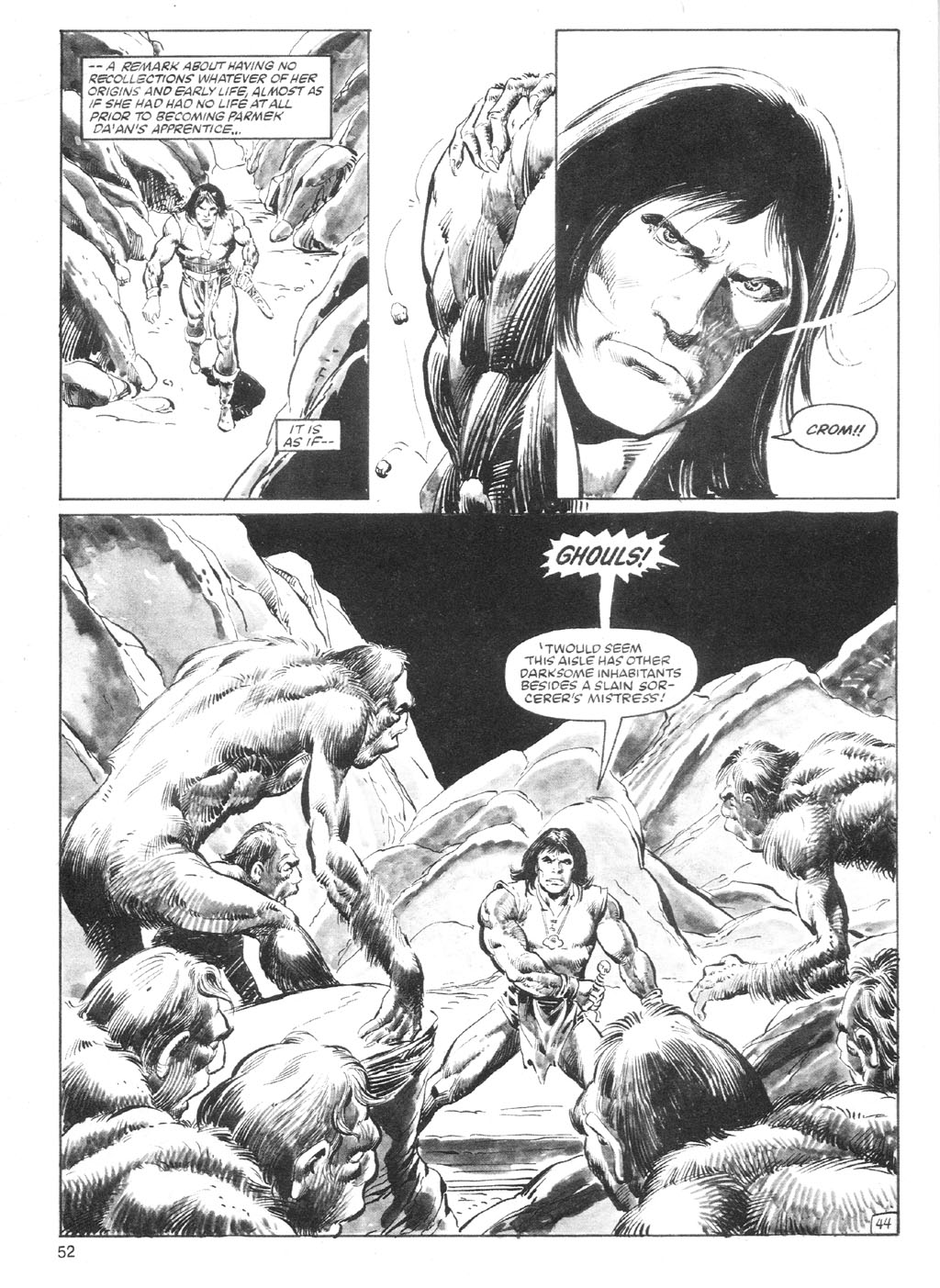 The Savage Sword Of Conan Issue #94 #95 - English 51