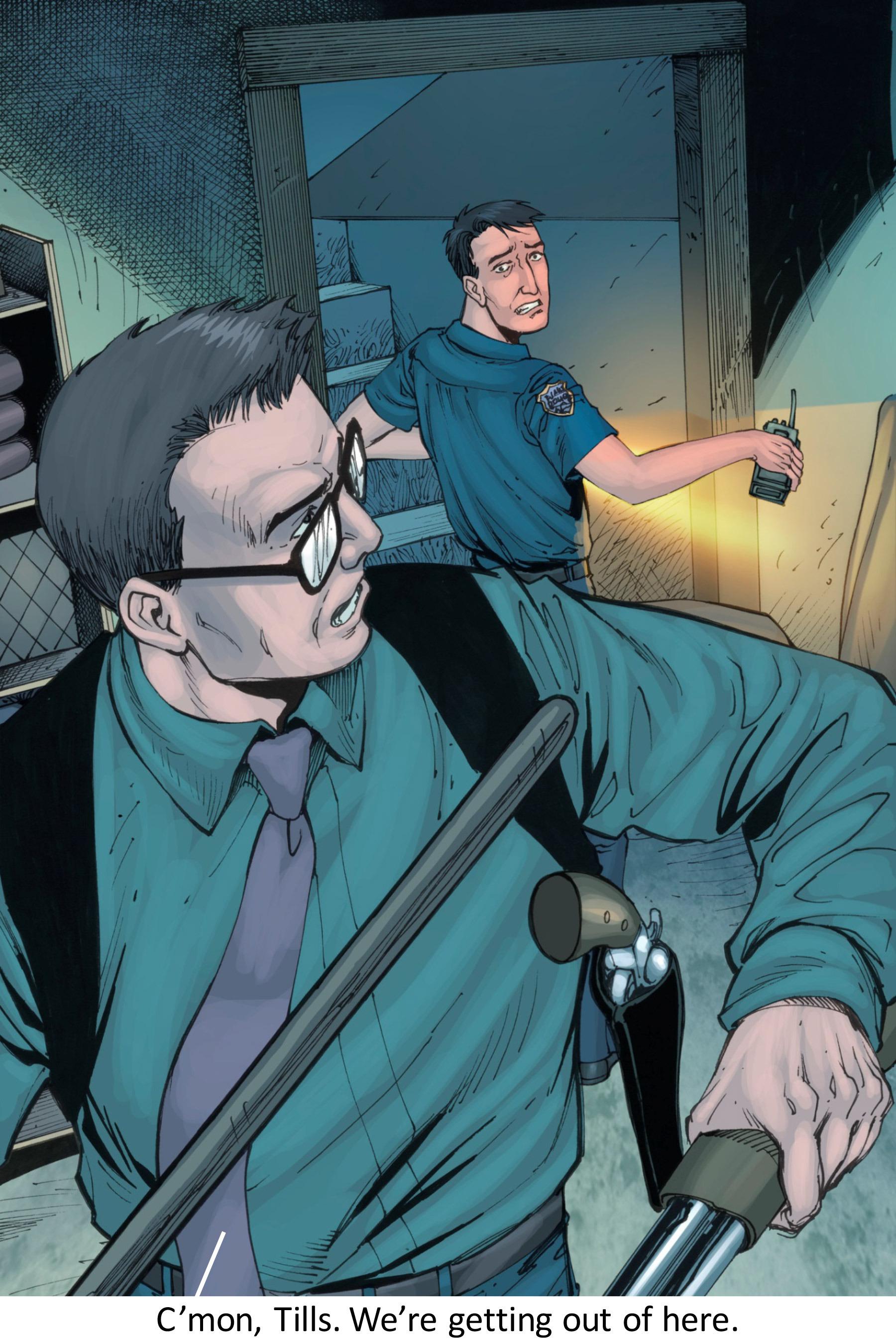 Read online Z-Men comic -  Issue #3 - 100