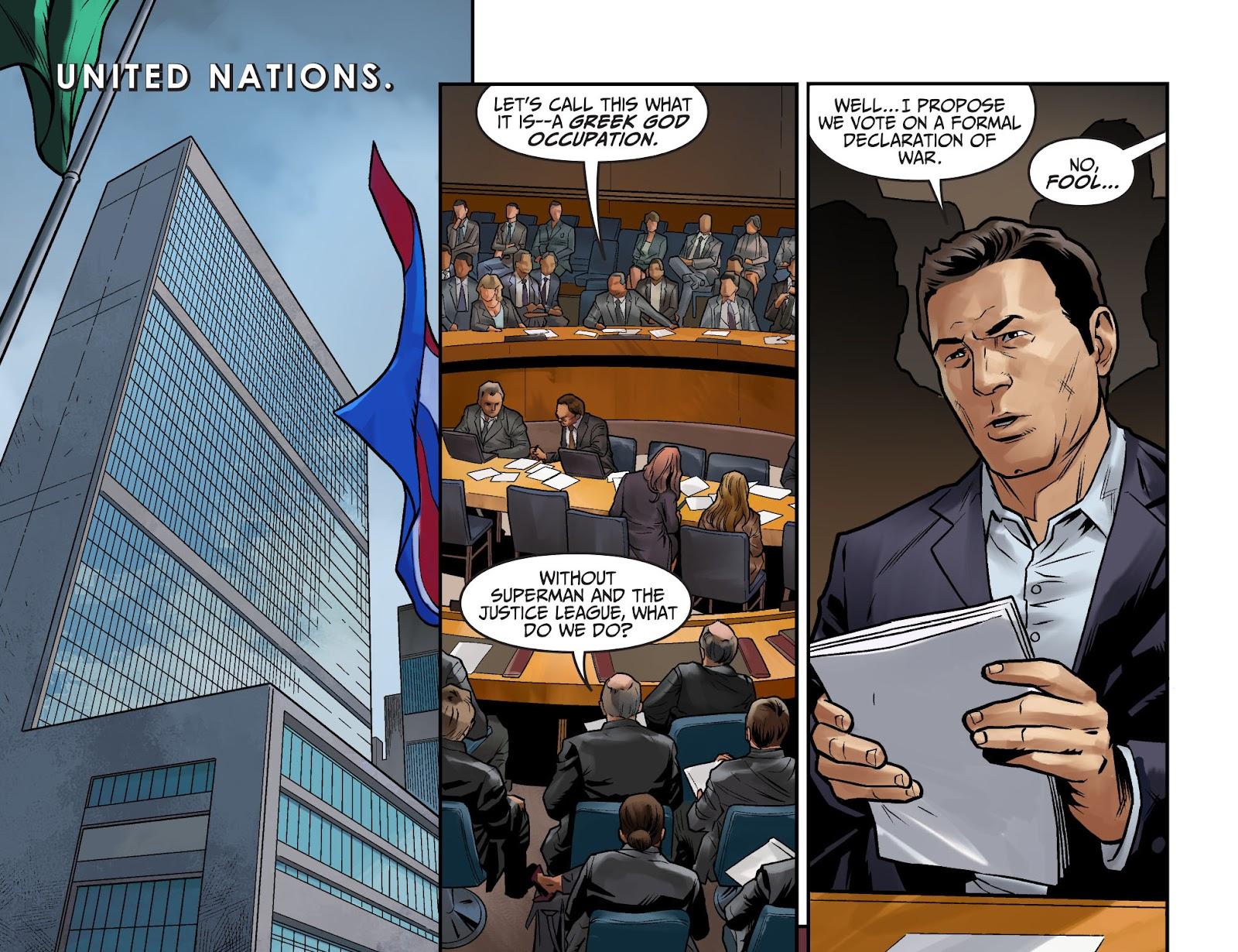 Injustice: Gods Among Us Year Four Issue #15 #16 - English 19