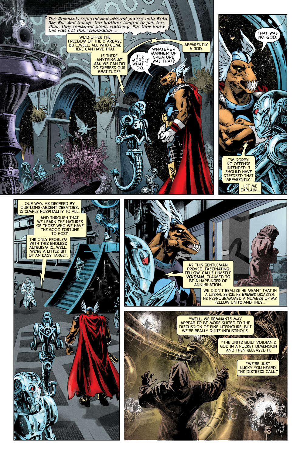 Read online Secret Invasion Aftermath: Beta Ray Bill - The Green of Eden comic -  Issue # Full - 6