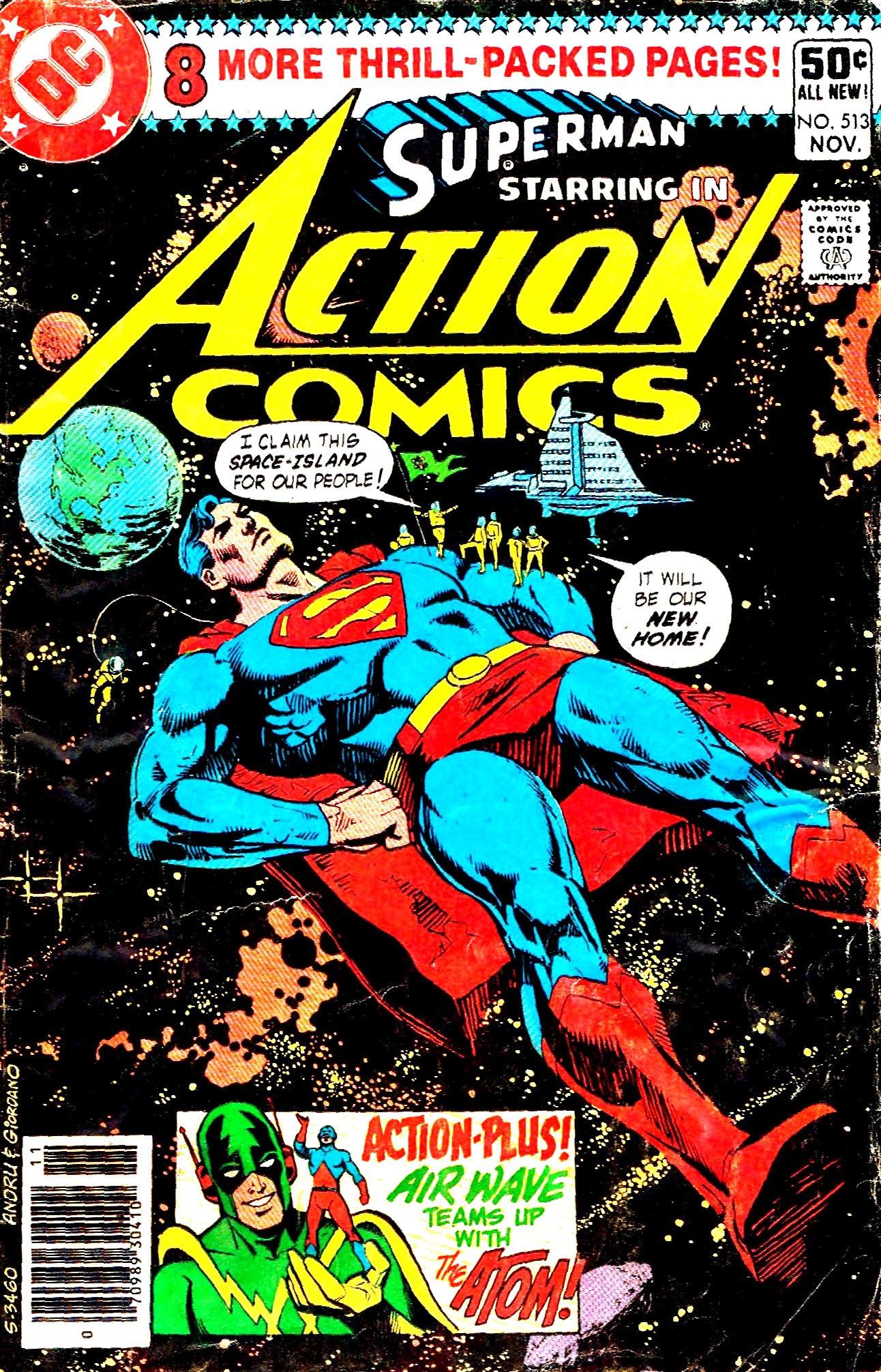 Action Comics (1938) 513 Page 1
