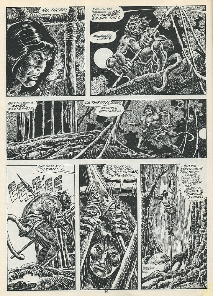 The Savage Sword Of Conan Issue #193 #194 - English 32