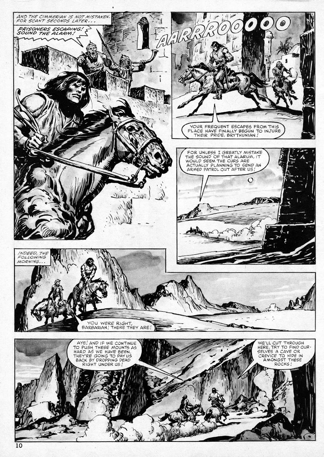 The Savage Sword Of Conan Issue #77 #78 - English 10