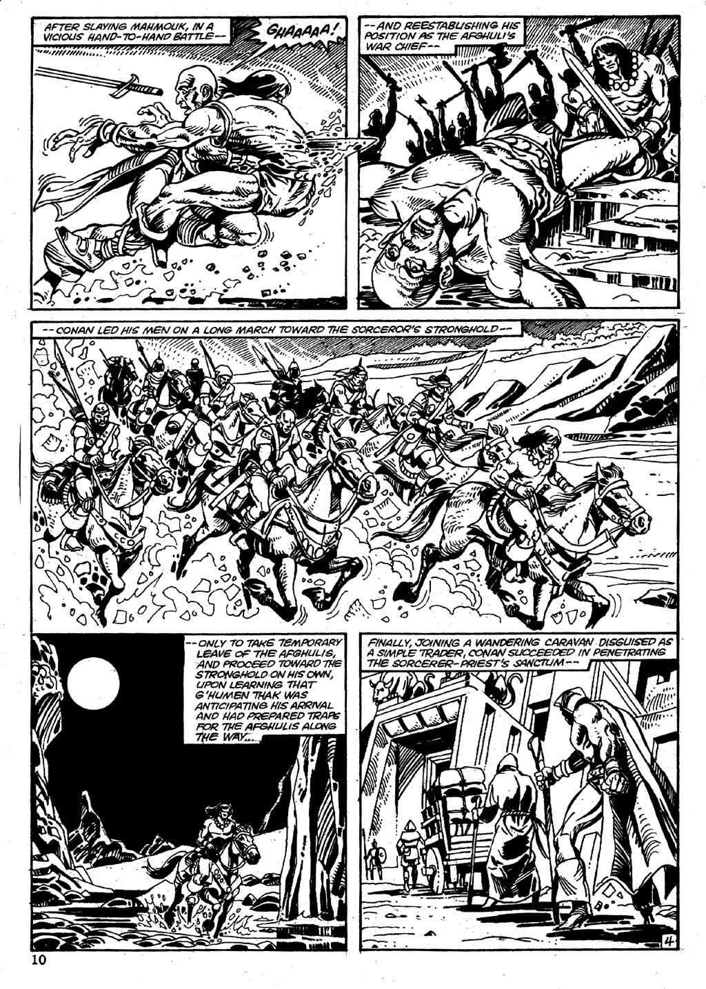 The Savage Sword Of Conan Issue #86 #87 - English 10
