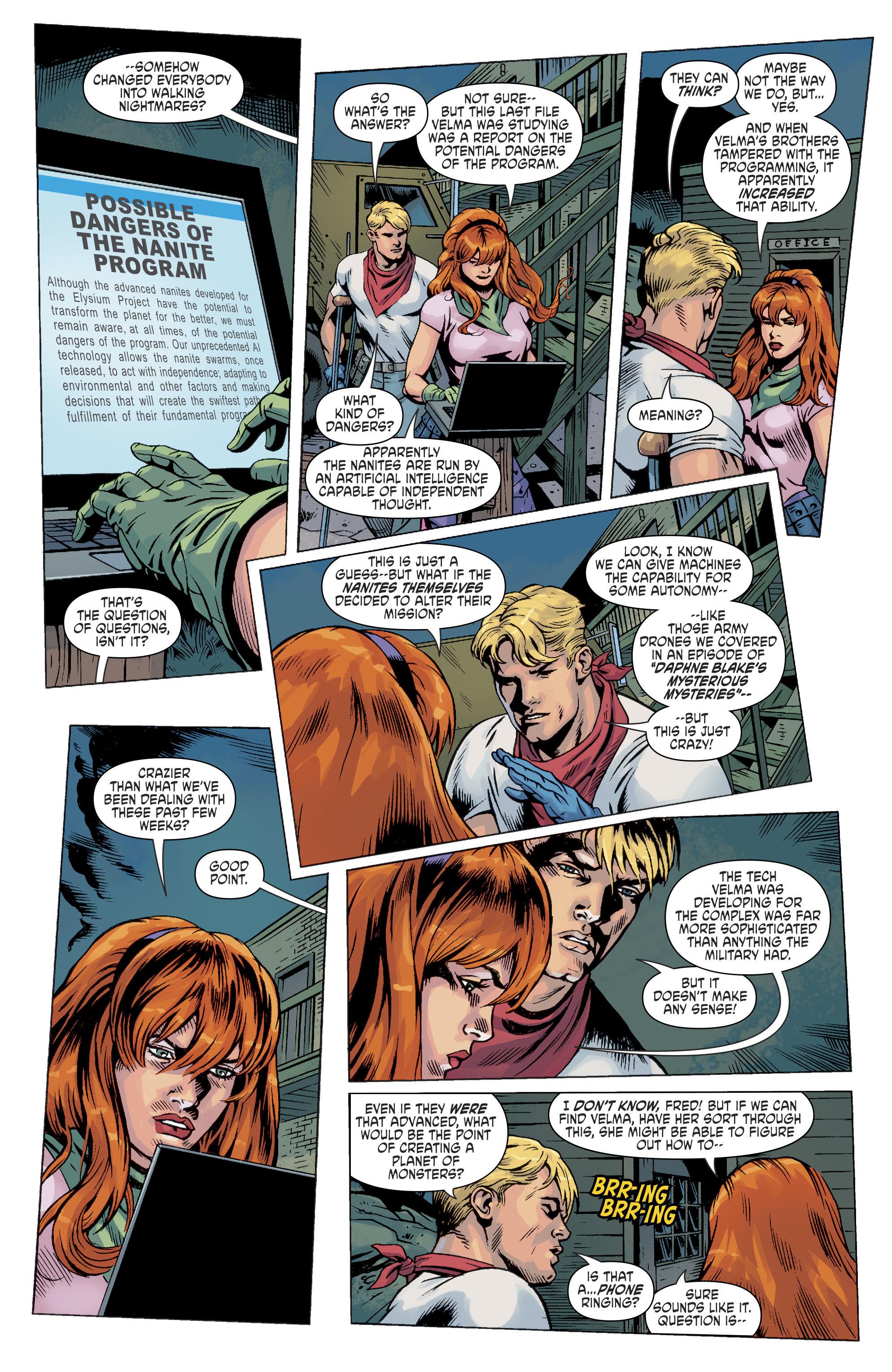 Read online Scooby Apocalypse comic -  Issue #11 - 10