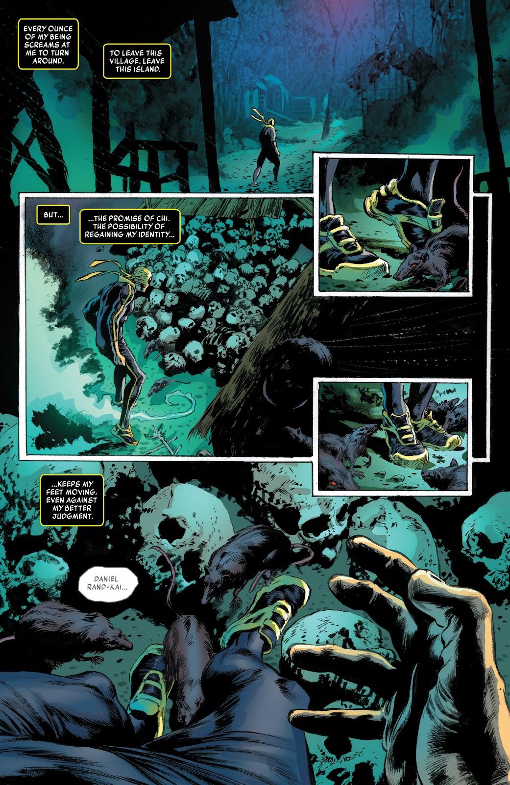 Iron Fist (2017) Issue #2 #2 - English 19