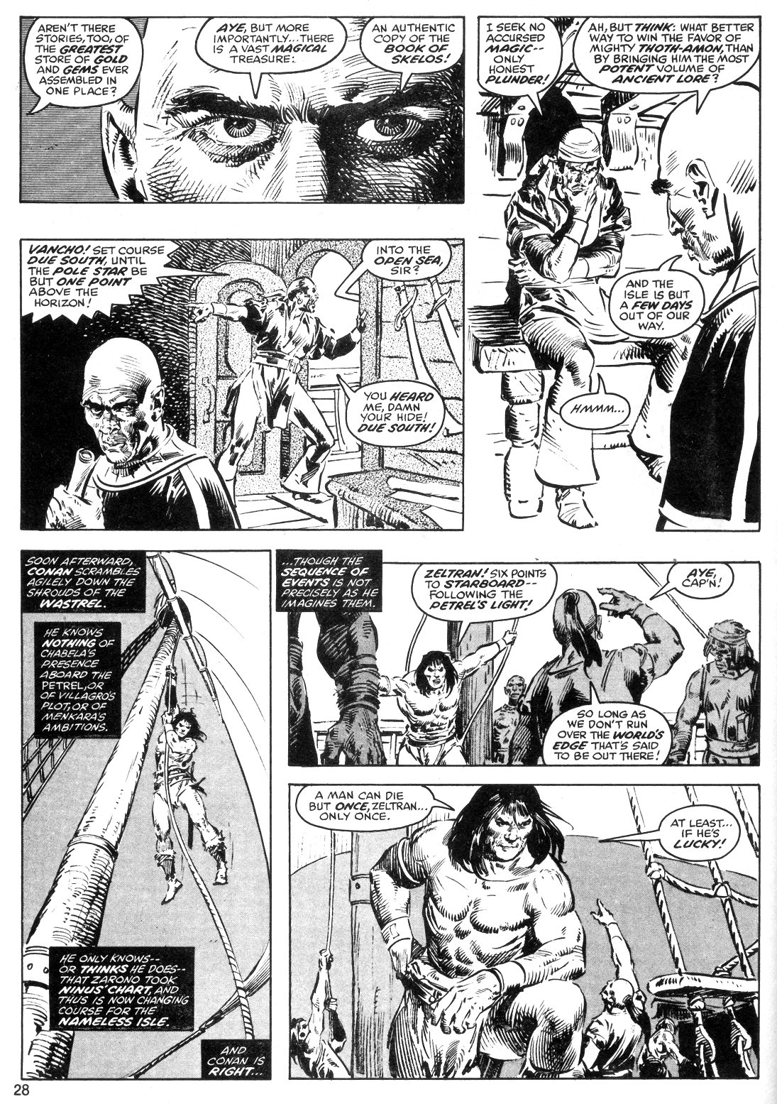 The Savage Sword Of Conan Issue #40 #41 - English 28